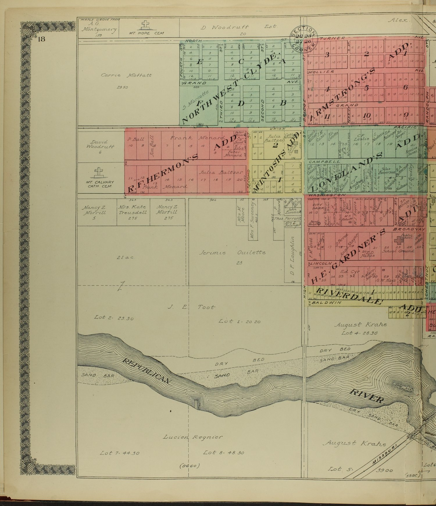 Standard atlas of Cloud County, Kansas - 18