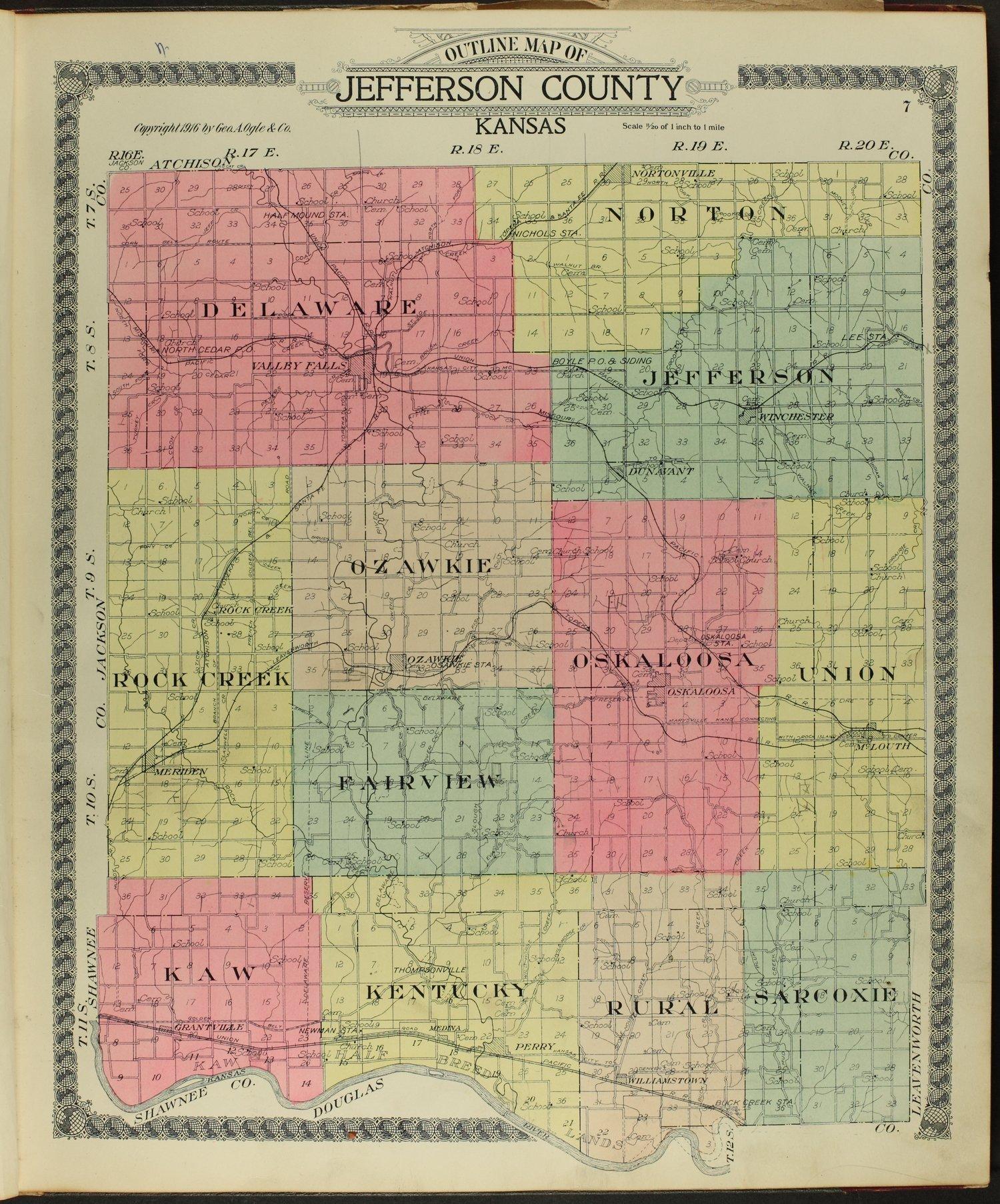 Standard atlas of Jefferson County, Kansas - 7