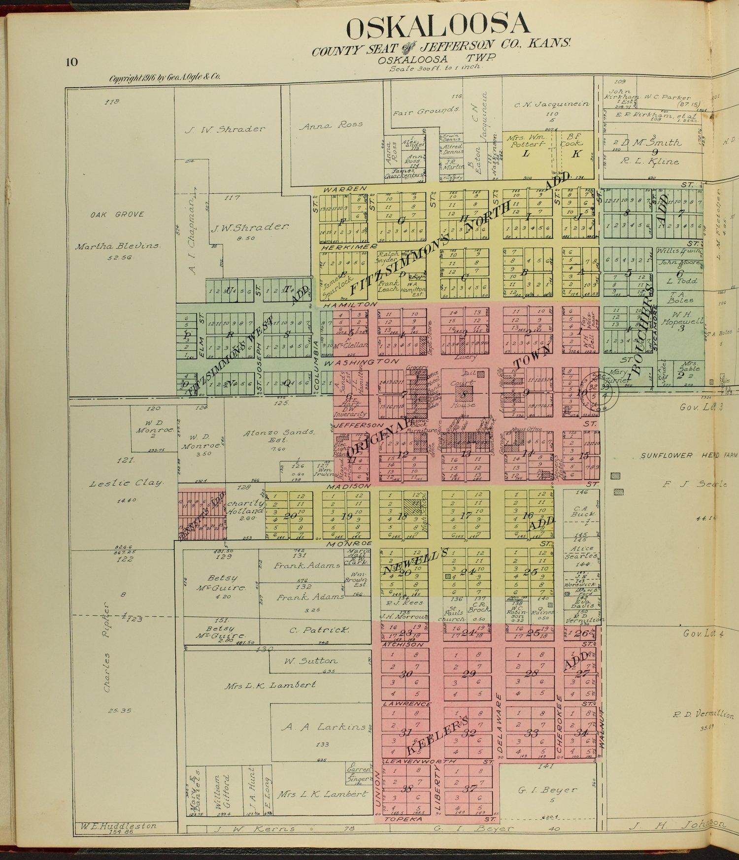 Standard atlas of Jefferson County, Kansas - 10
