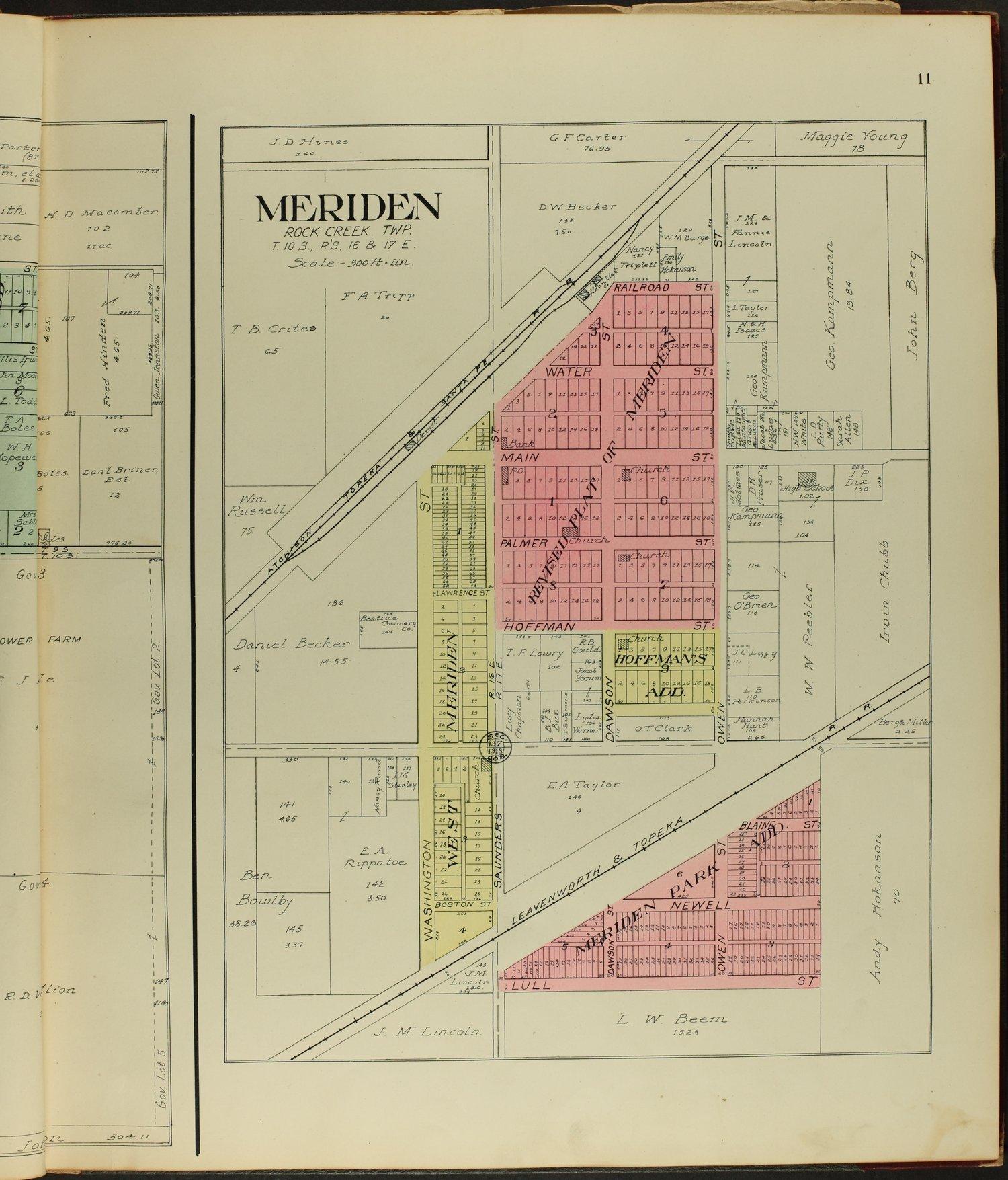 Standard atlas of Jefferson County, Kansas - 11