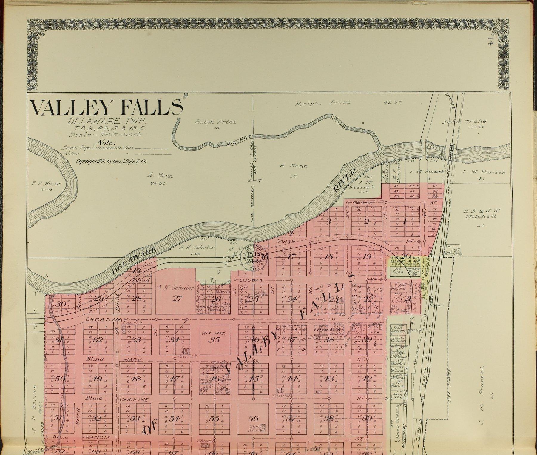 Standard atlas of Jefferson County, Kansas - 14