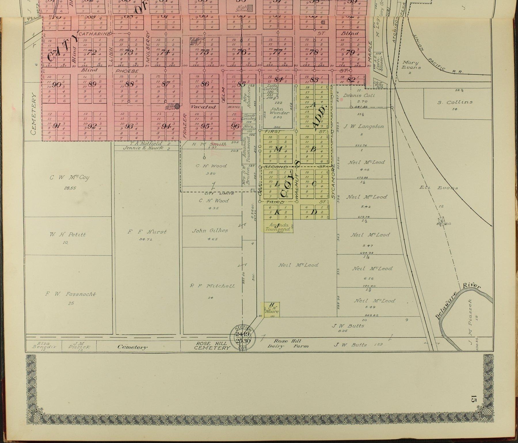 Standard atlas of Jefferson County, Kansas - 15