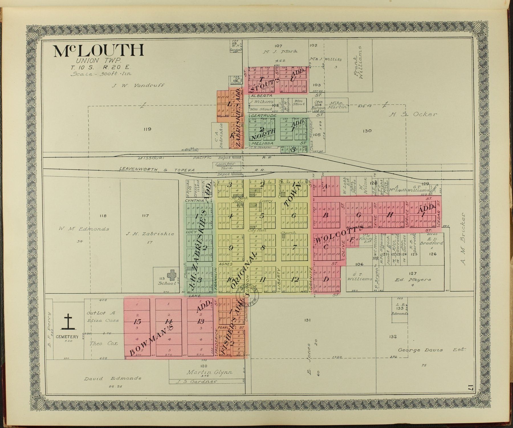 Standard atlas of Jefferson County, Kansas - 17