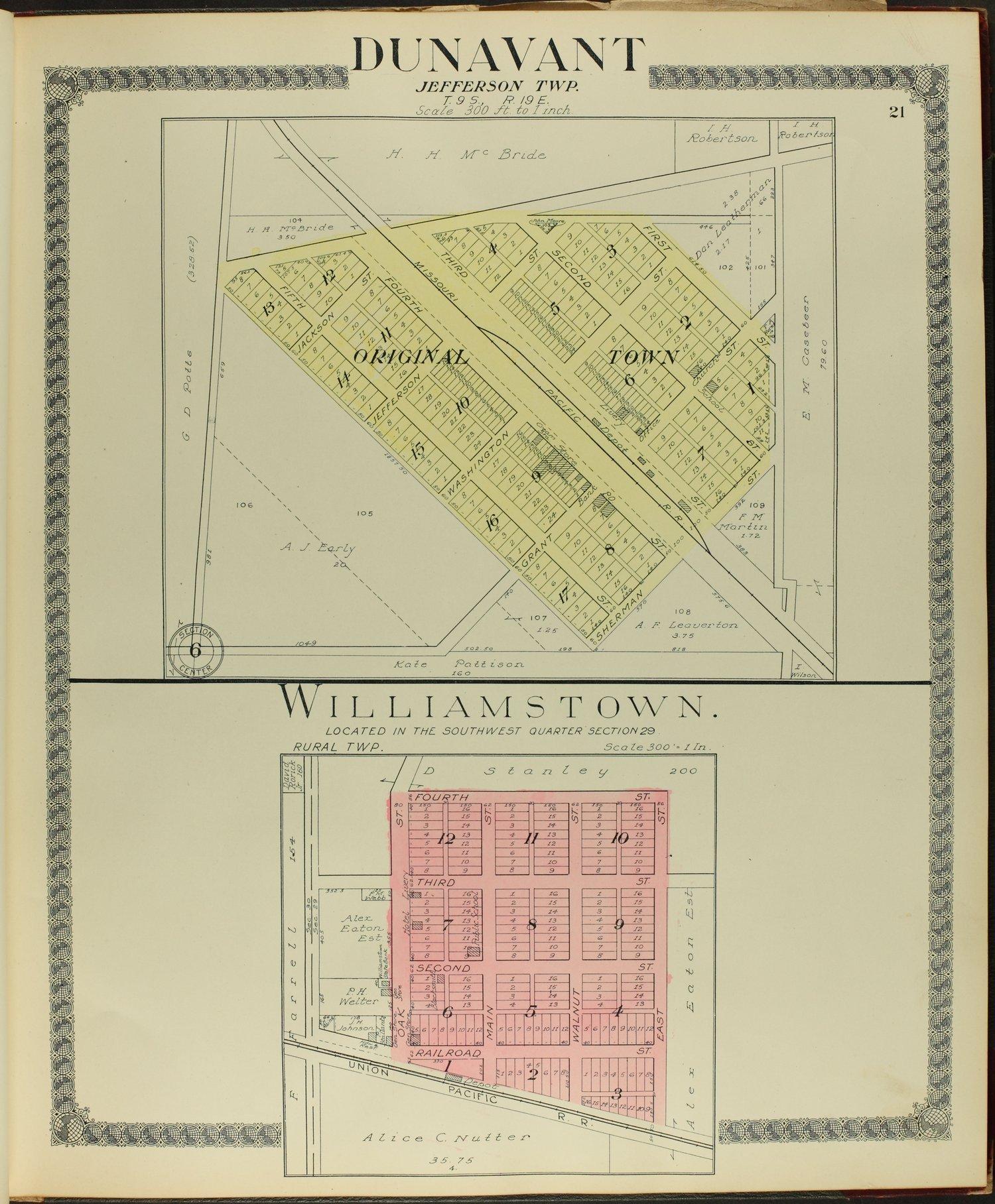 Standard atlas of Jefferson County, Kansas - 21