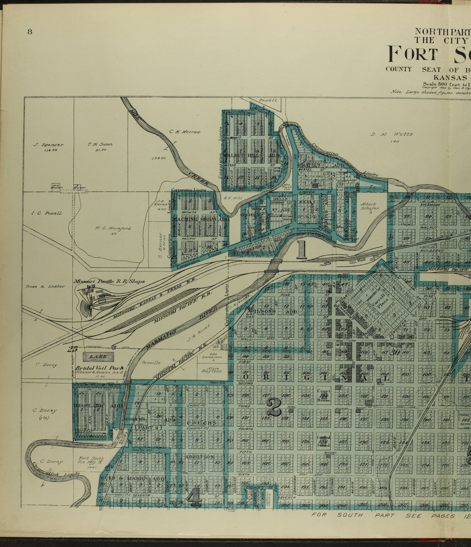 Standard atlas of Bourbon County, Kansas - 8