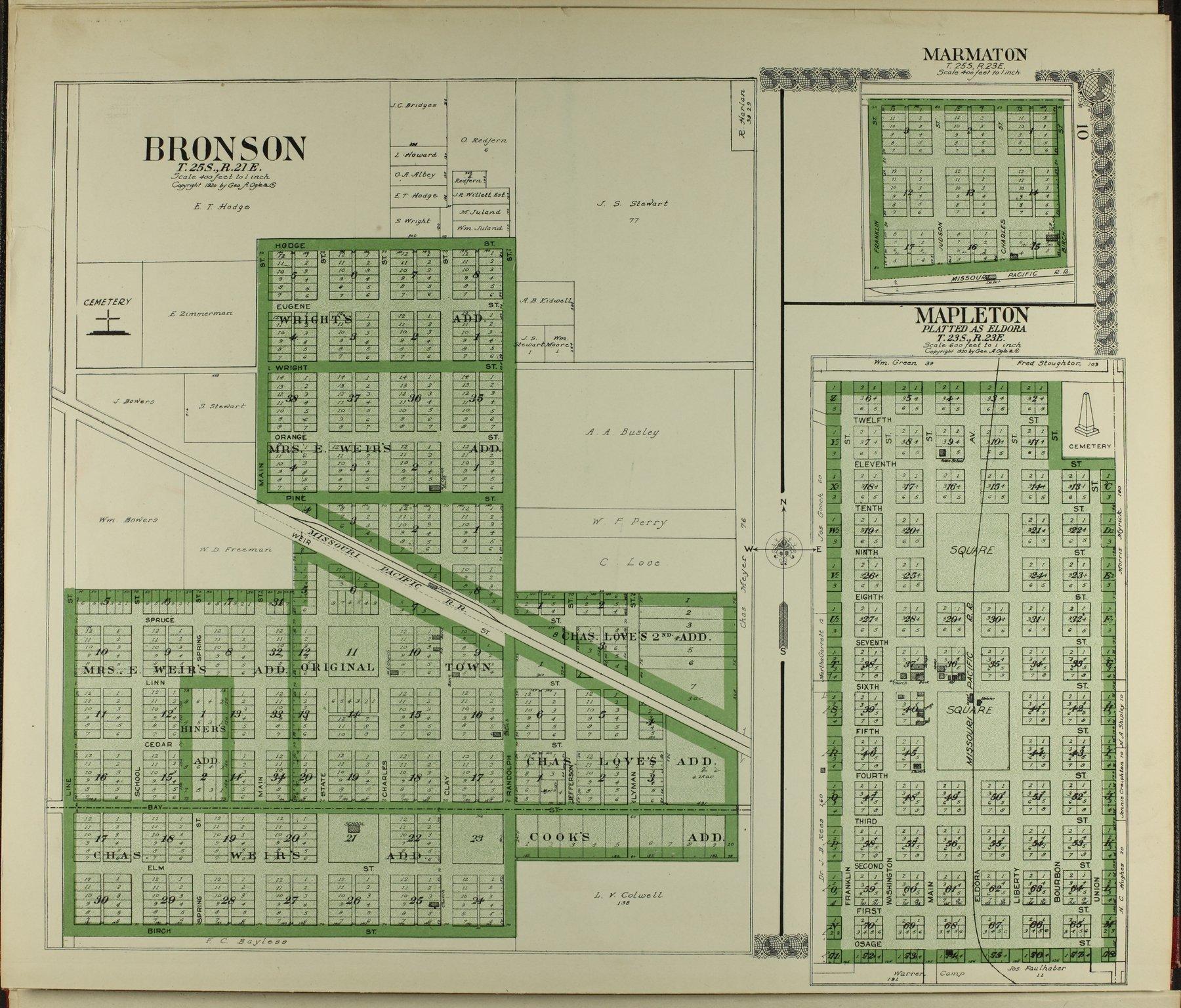 Standard atlas of Bourbon County, Kansas - 10