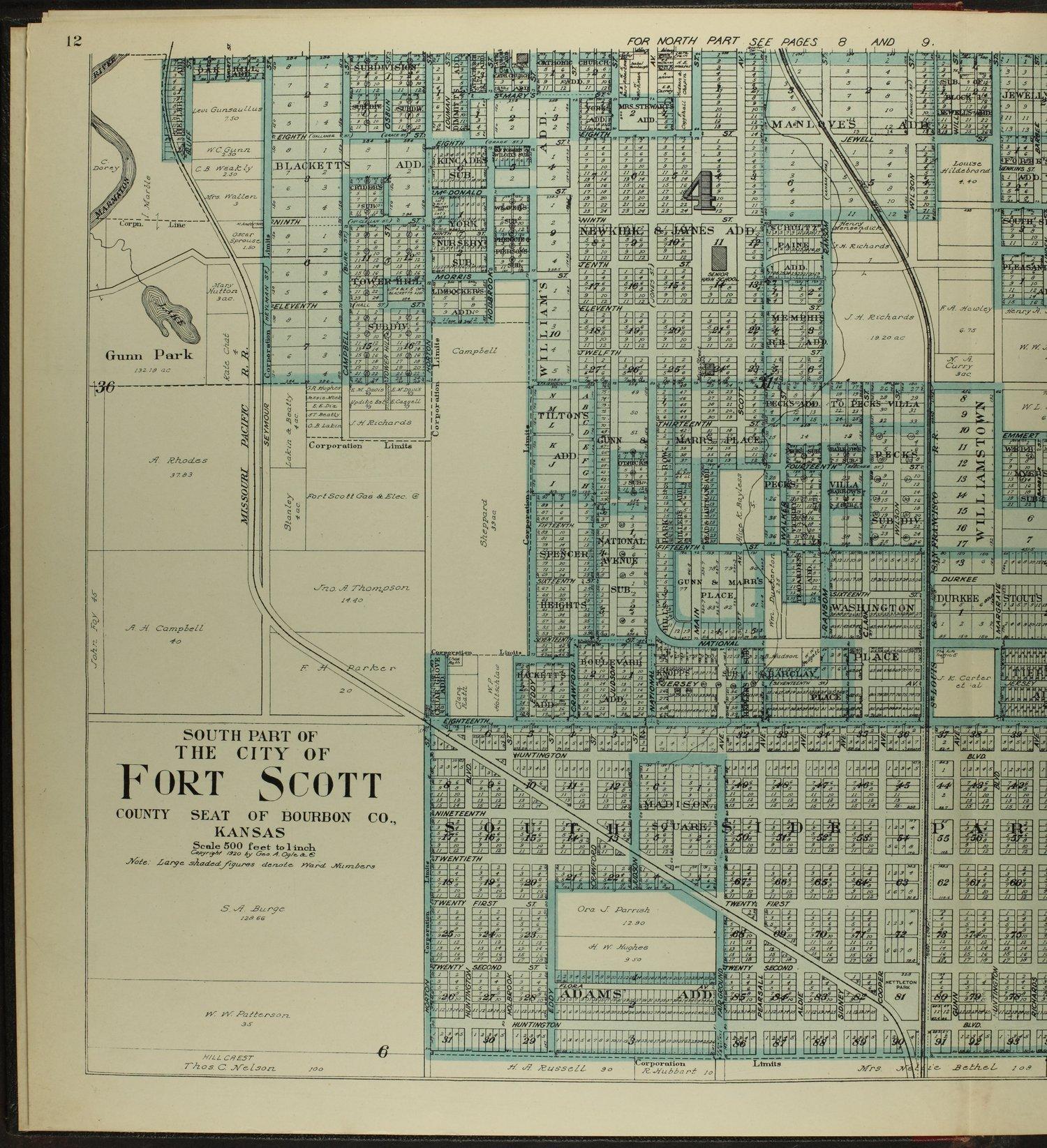 Standard atlas of Bourbon County, Kansas - 12