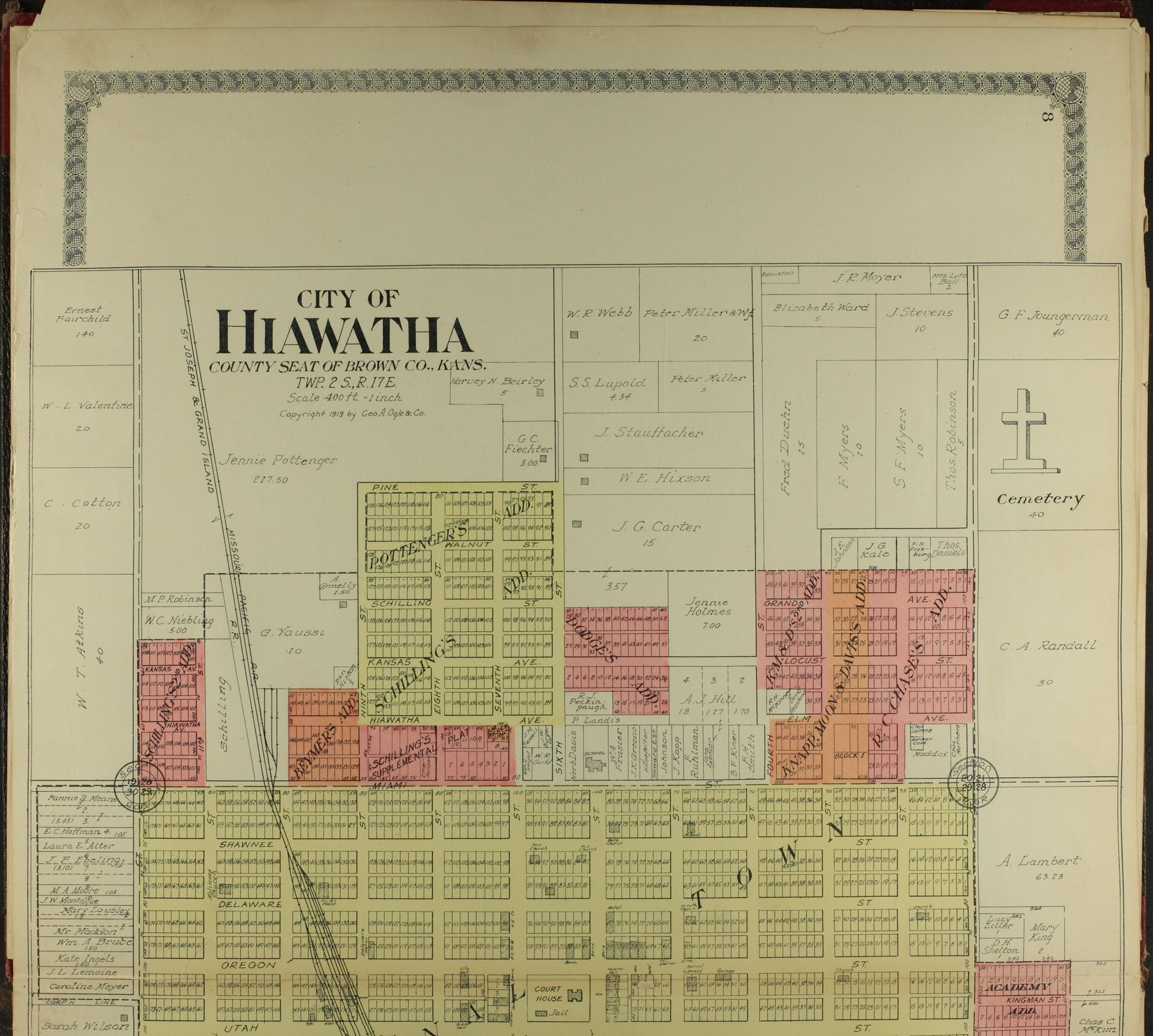 Standard atlas of Brown County, Kansas - 8