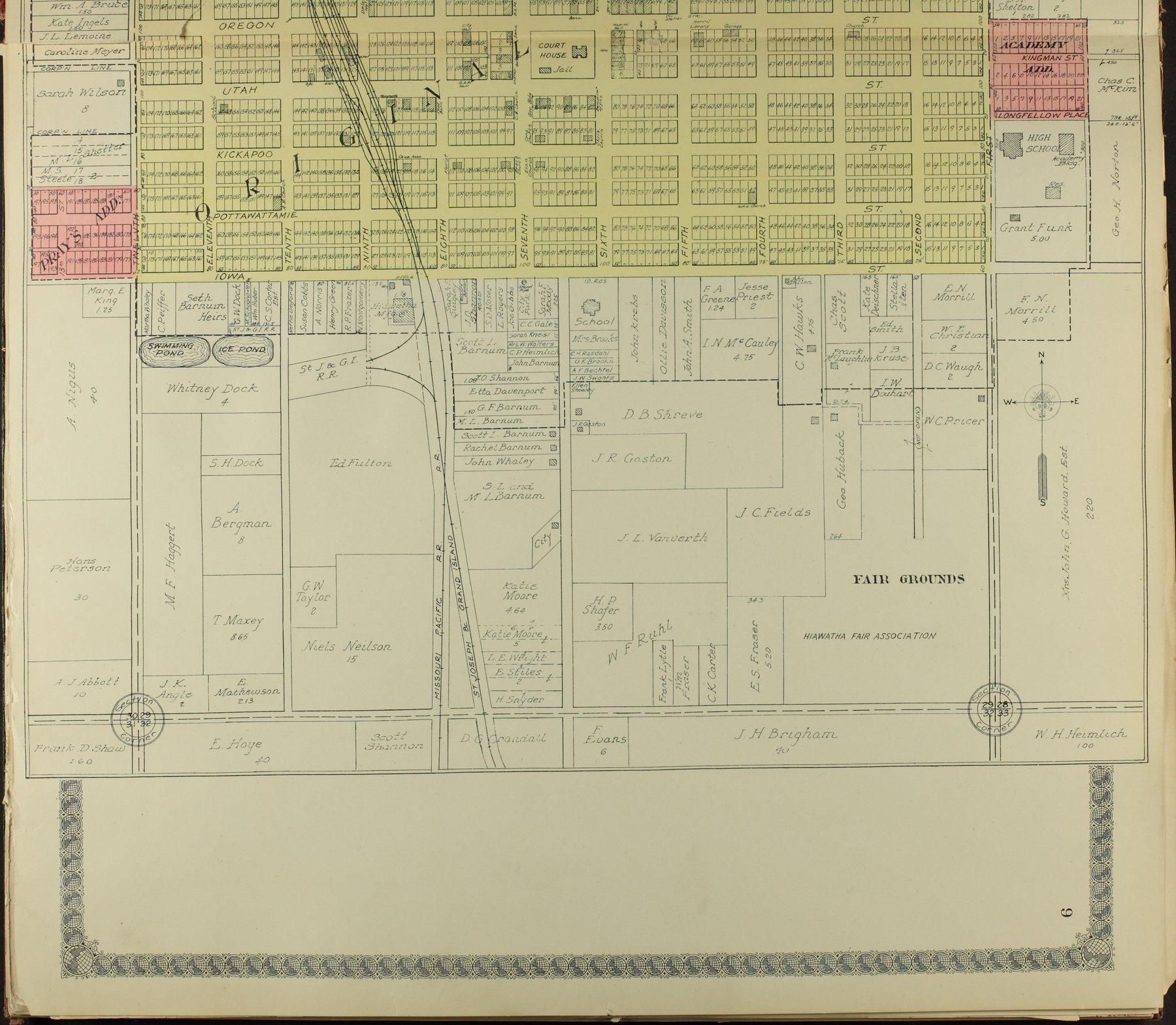 Standard atlas of Brown County, Kansas - 9