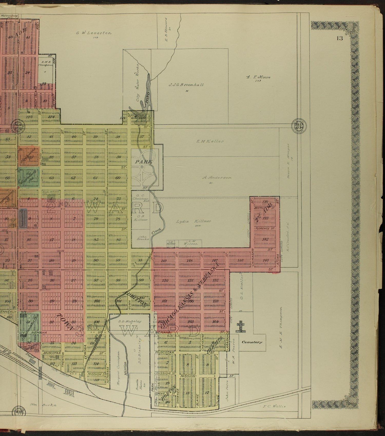 Standard atlas of Brown County, Kansas - 13