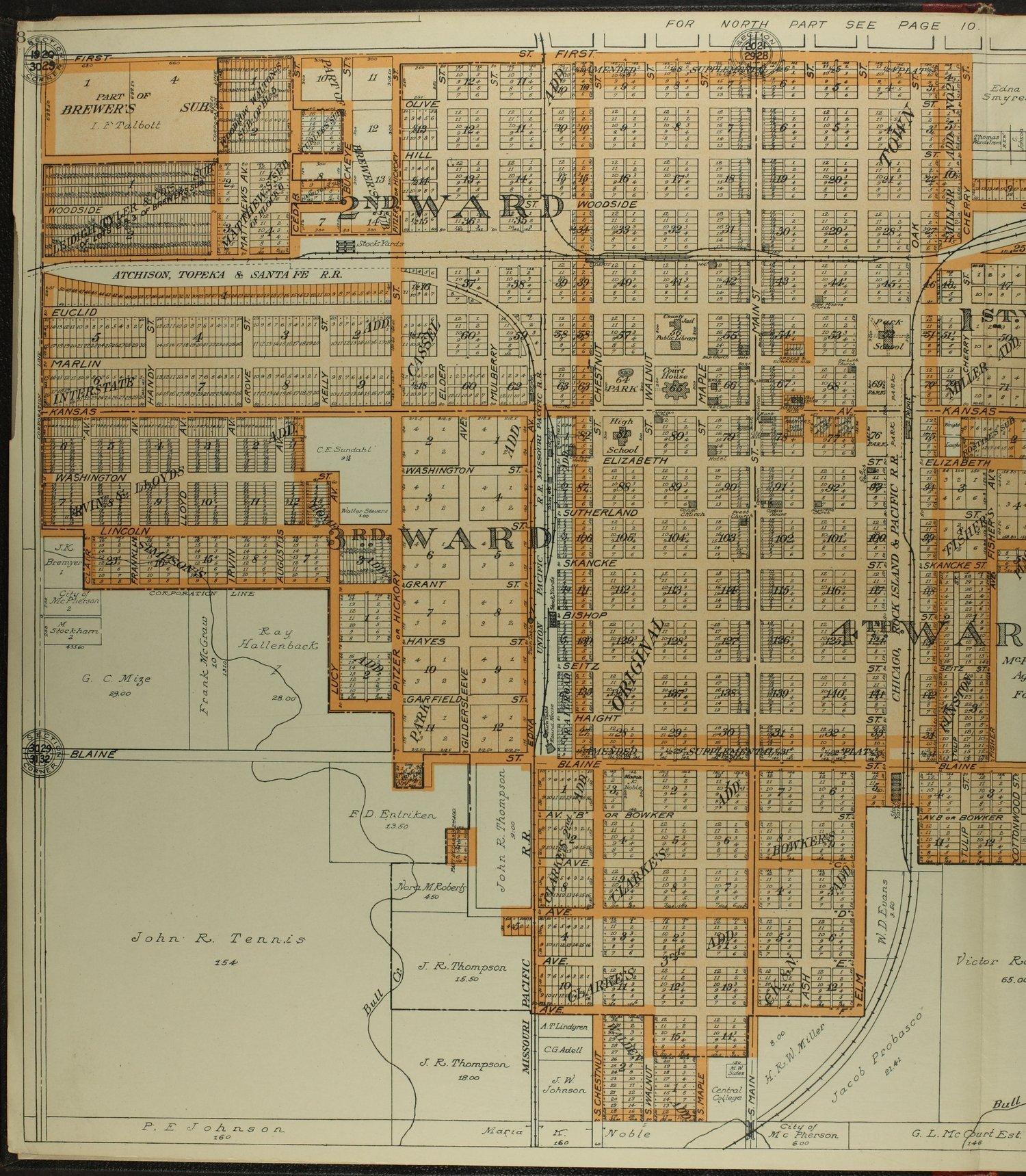 Standard atlas of McPherson County, Kansas - 8