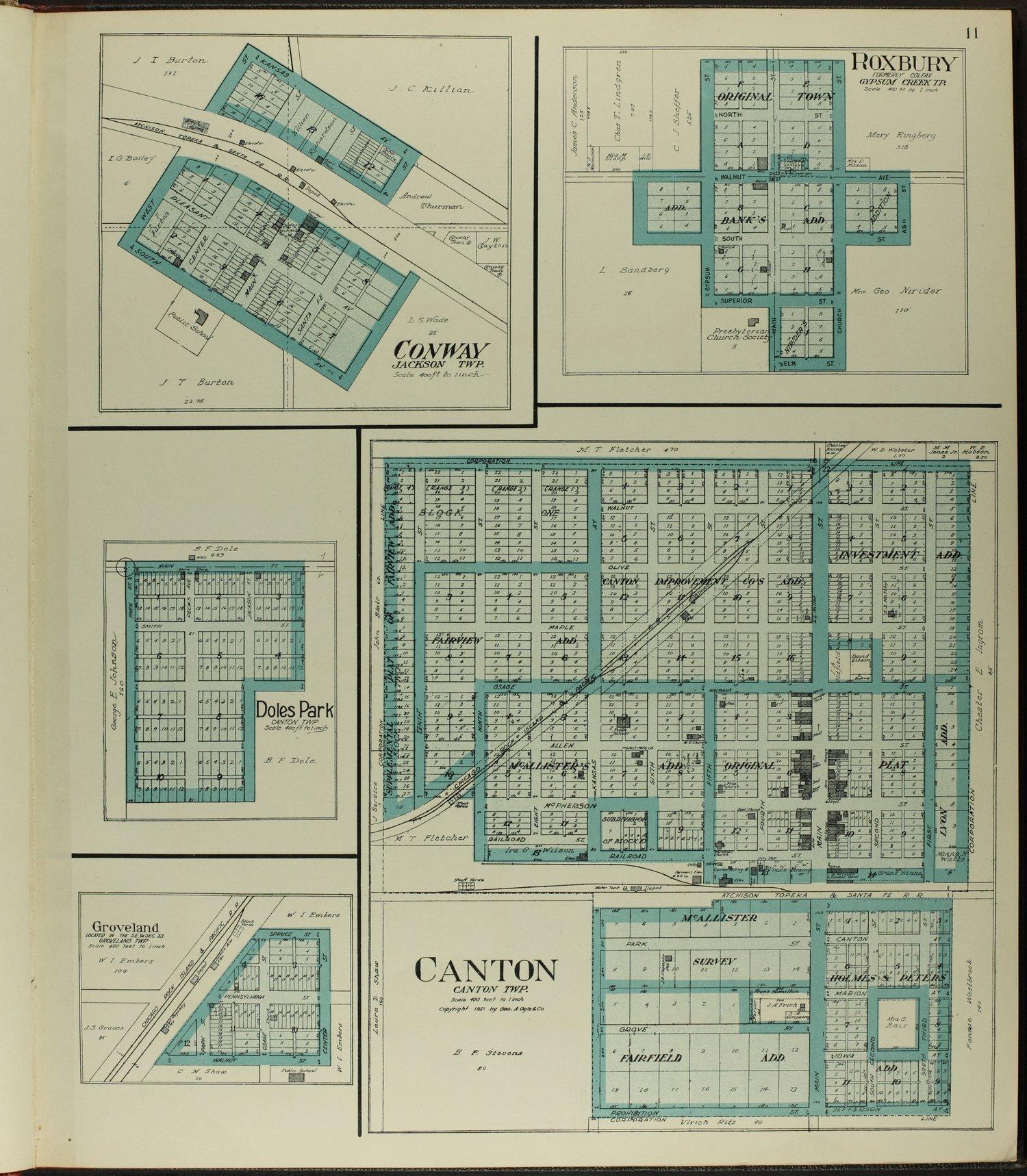 Standard atlas of McPherson County, Kansas - 11