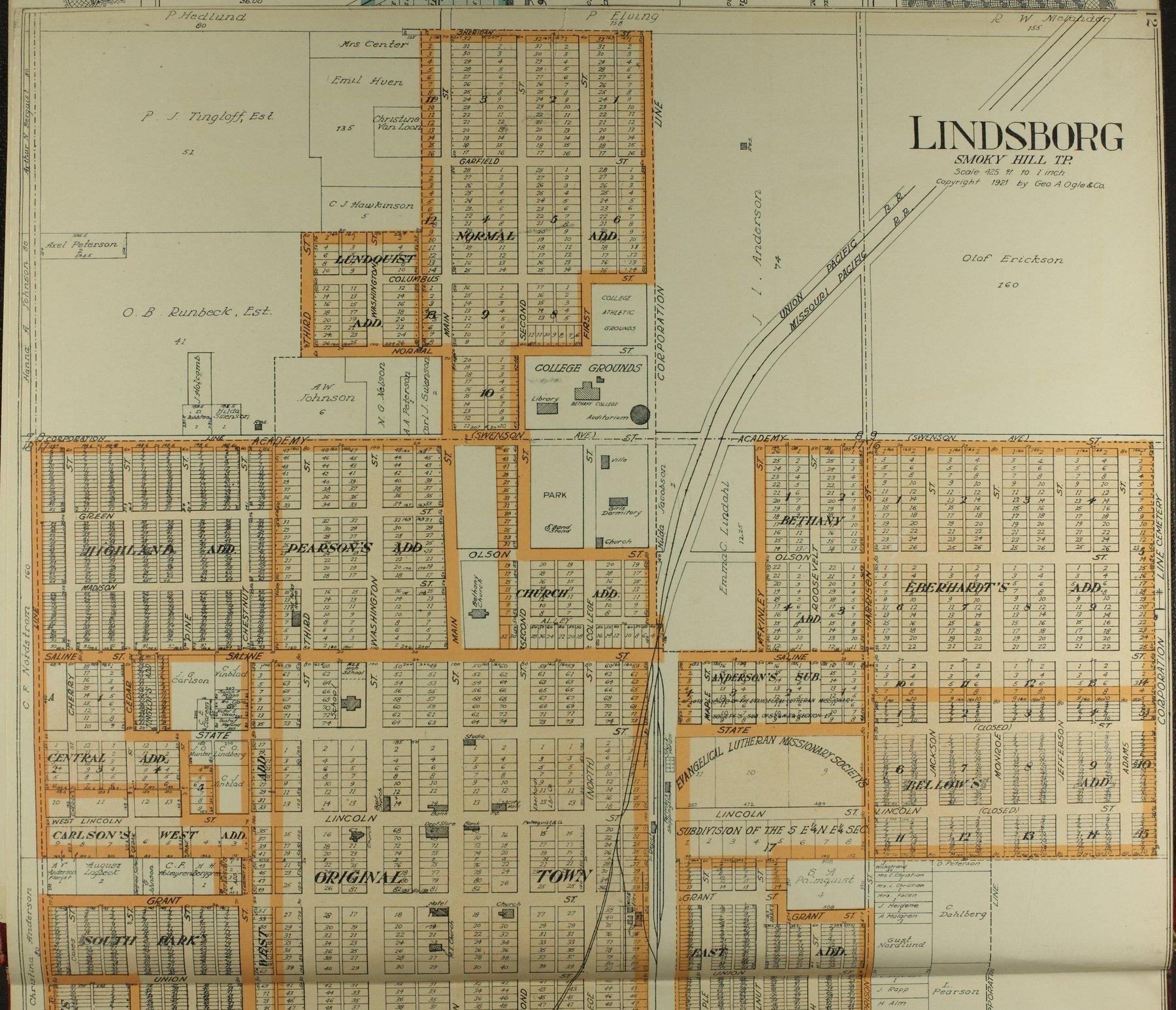 Standard atlas of McPherson County, Kansas - 12