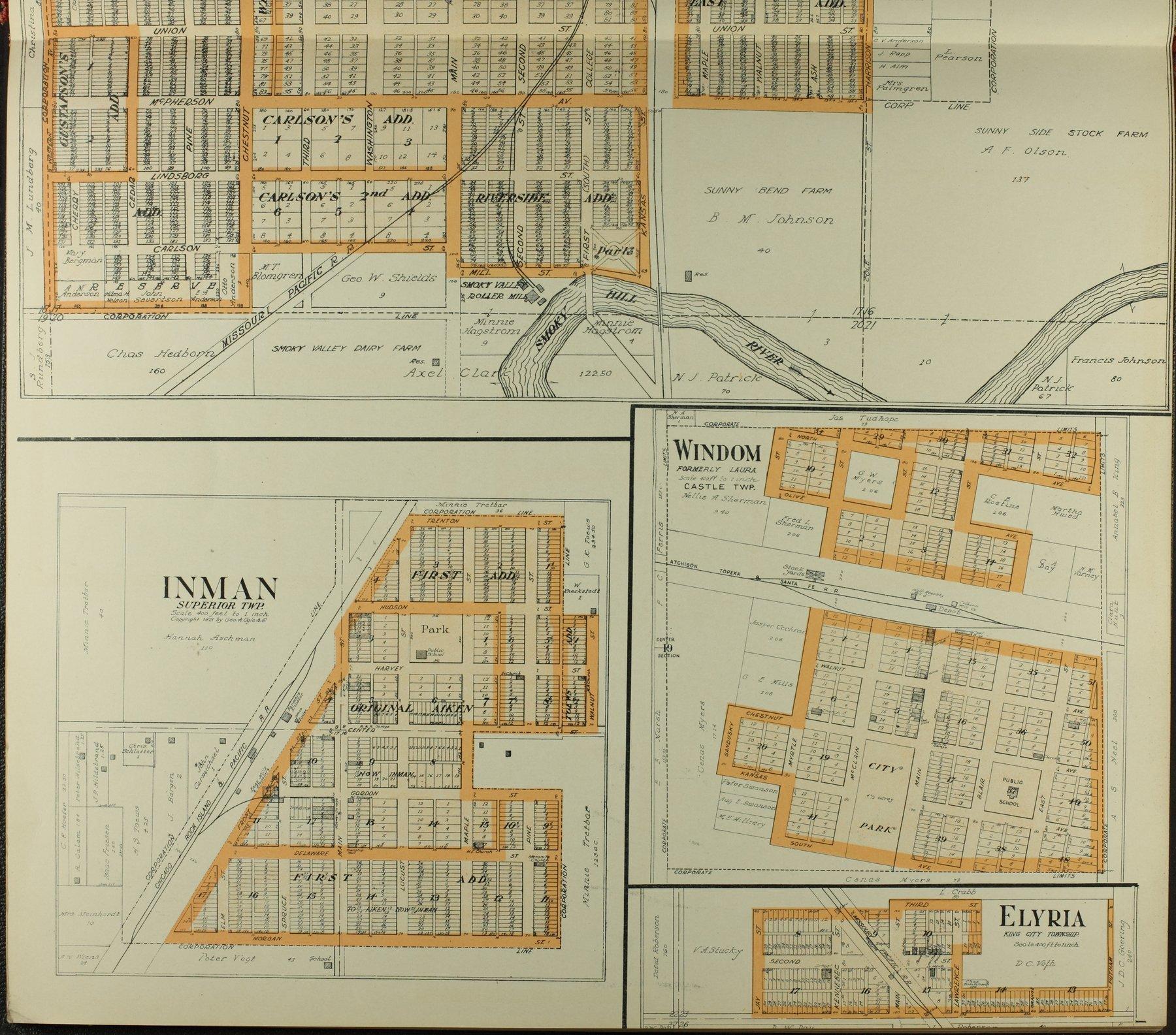 Standard atlas of McPherson County, Kansas - 13
