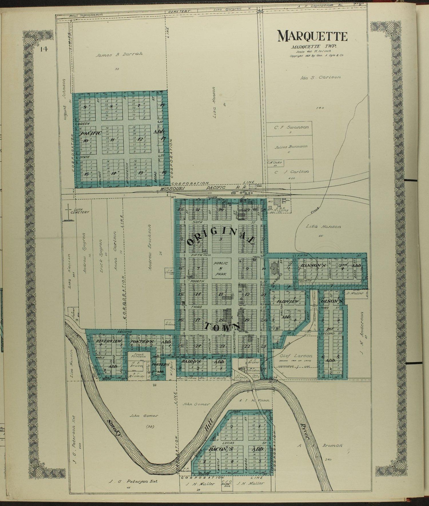 Standard atlas of McPherson County, Kansas - 14
