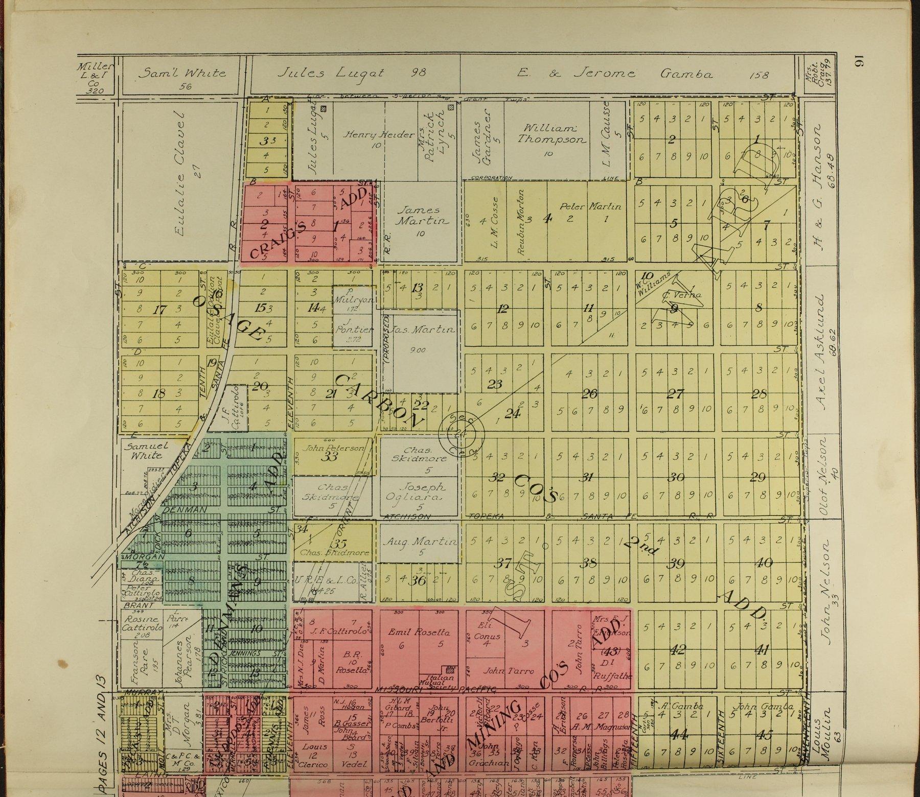 Standard atlas of Osage County, Kansas - 16