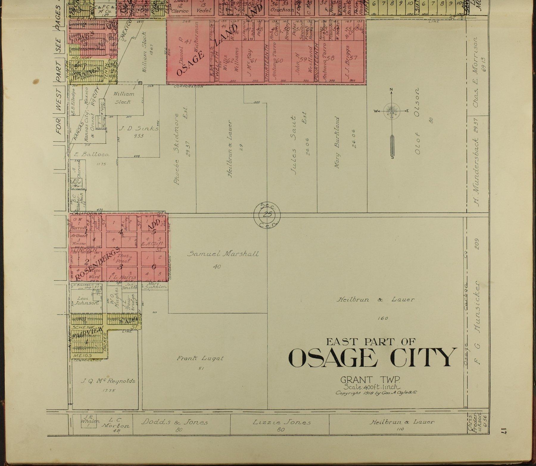 Standard atlas of Osage County, Kansas - 17