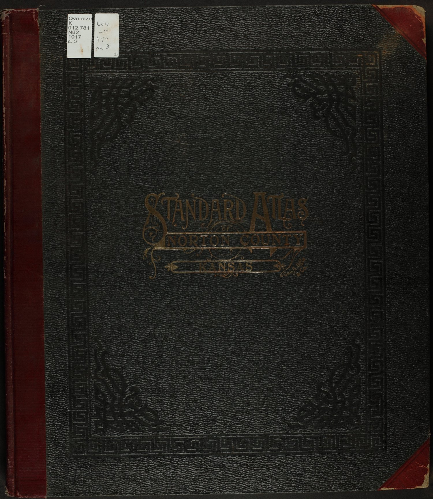 Standard atlas of Norton County, Kansas - Front Cover