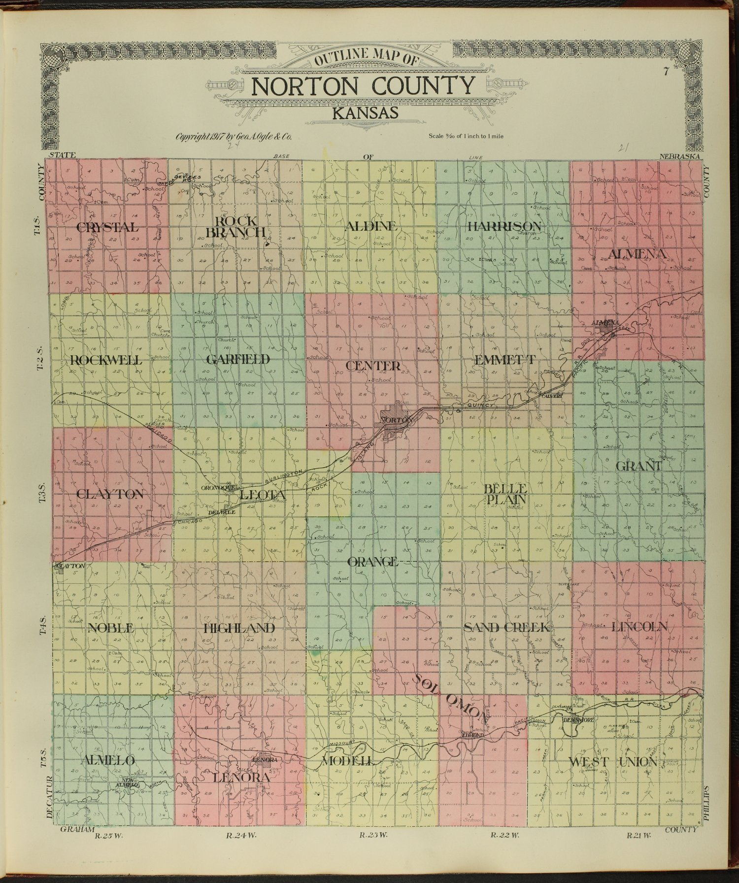 Standard atlas of Norton County, Kansas - 7