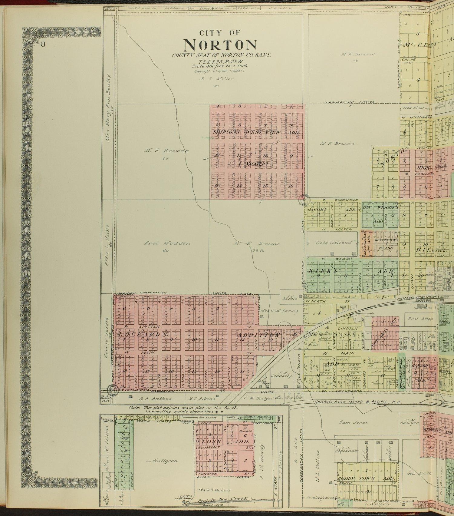Standard atlas of Norton County, Kansas - 8