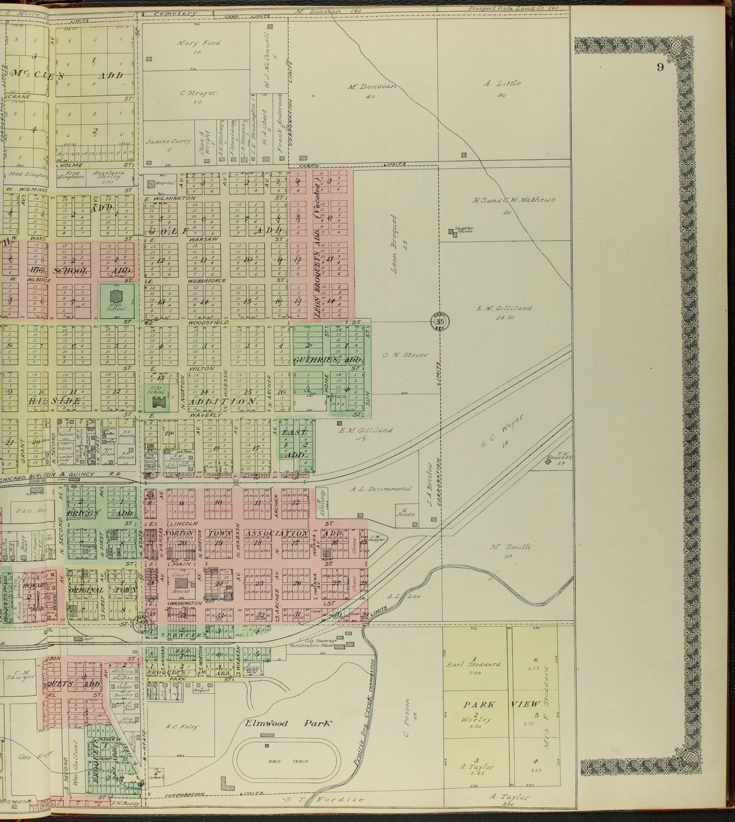 Standard atlas of Norton County, Kansas - 9
