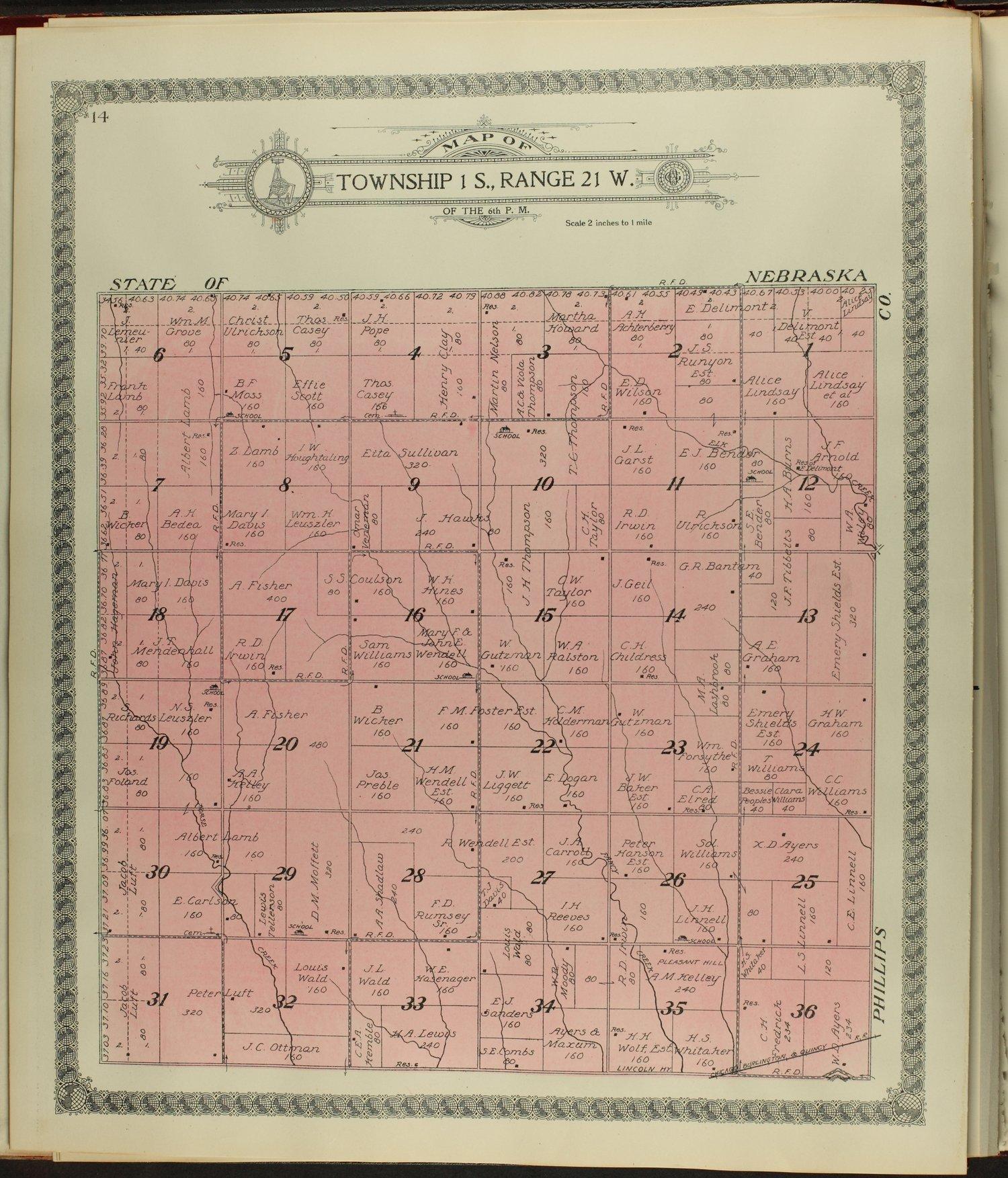 Standard atlas of Norton County, Kansas - 14