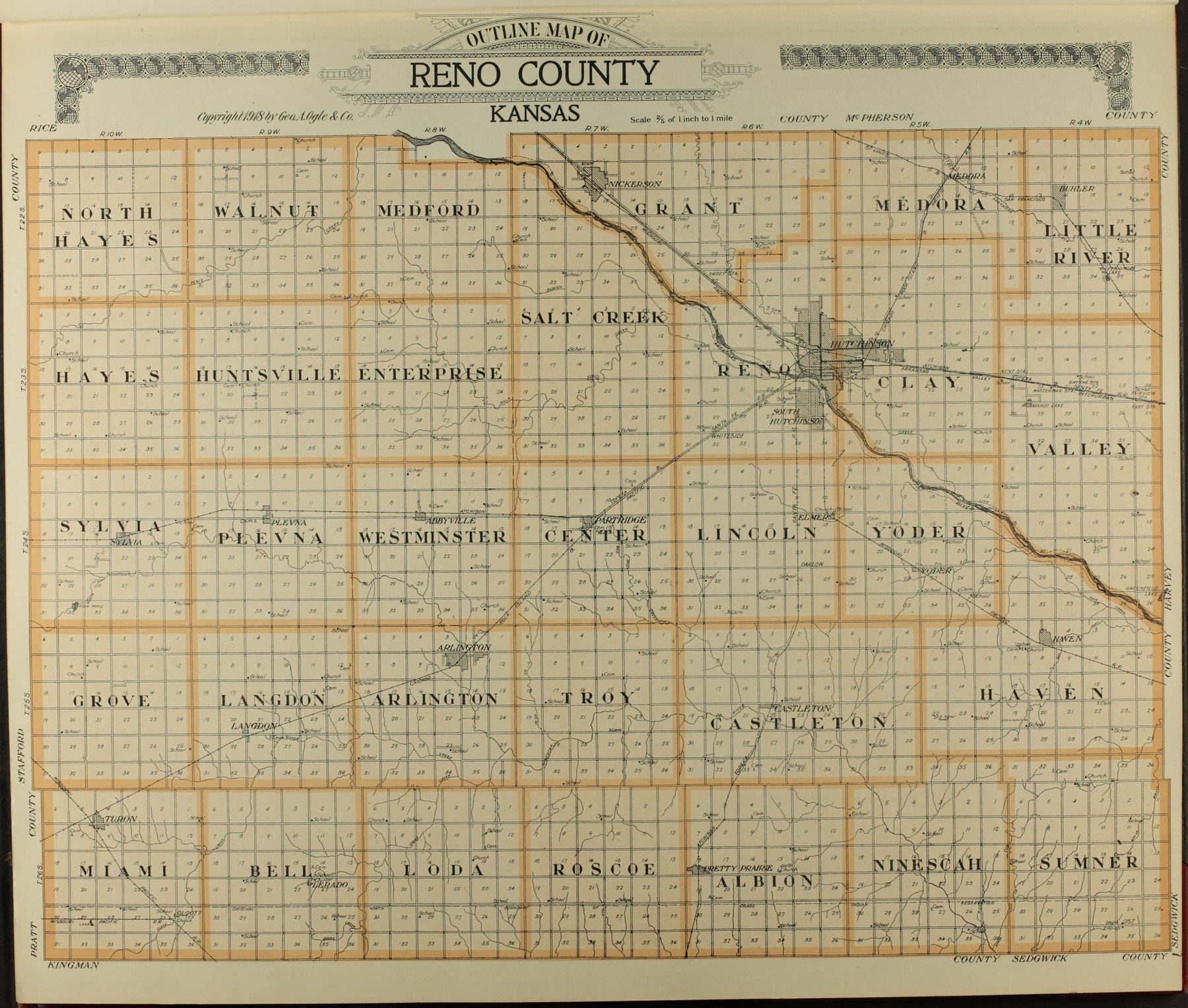 Standard atlas of Reno County, Kansas - 7