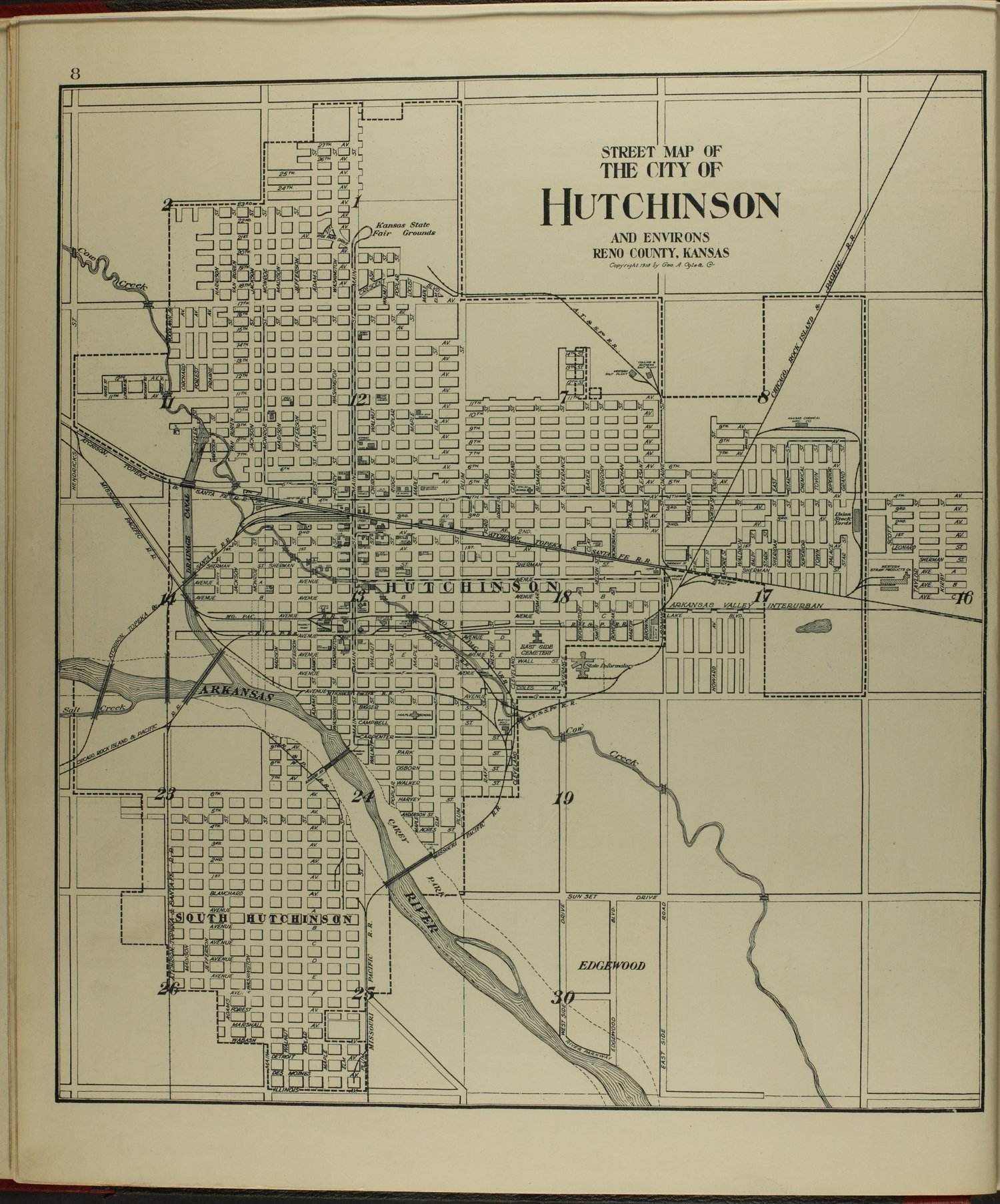 Standard atlas of Reno County, Kansas - 8