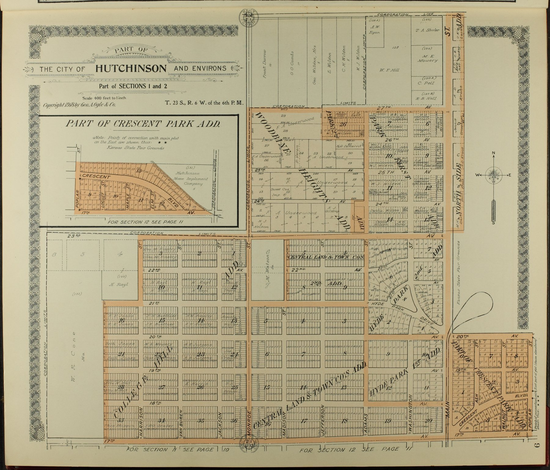 Standard atlas of Reno County, Kansas - 9