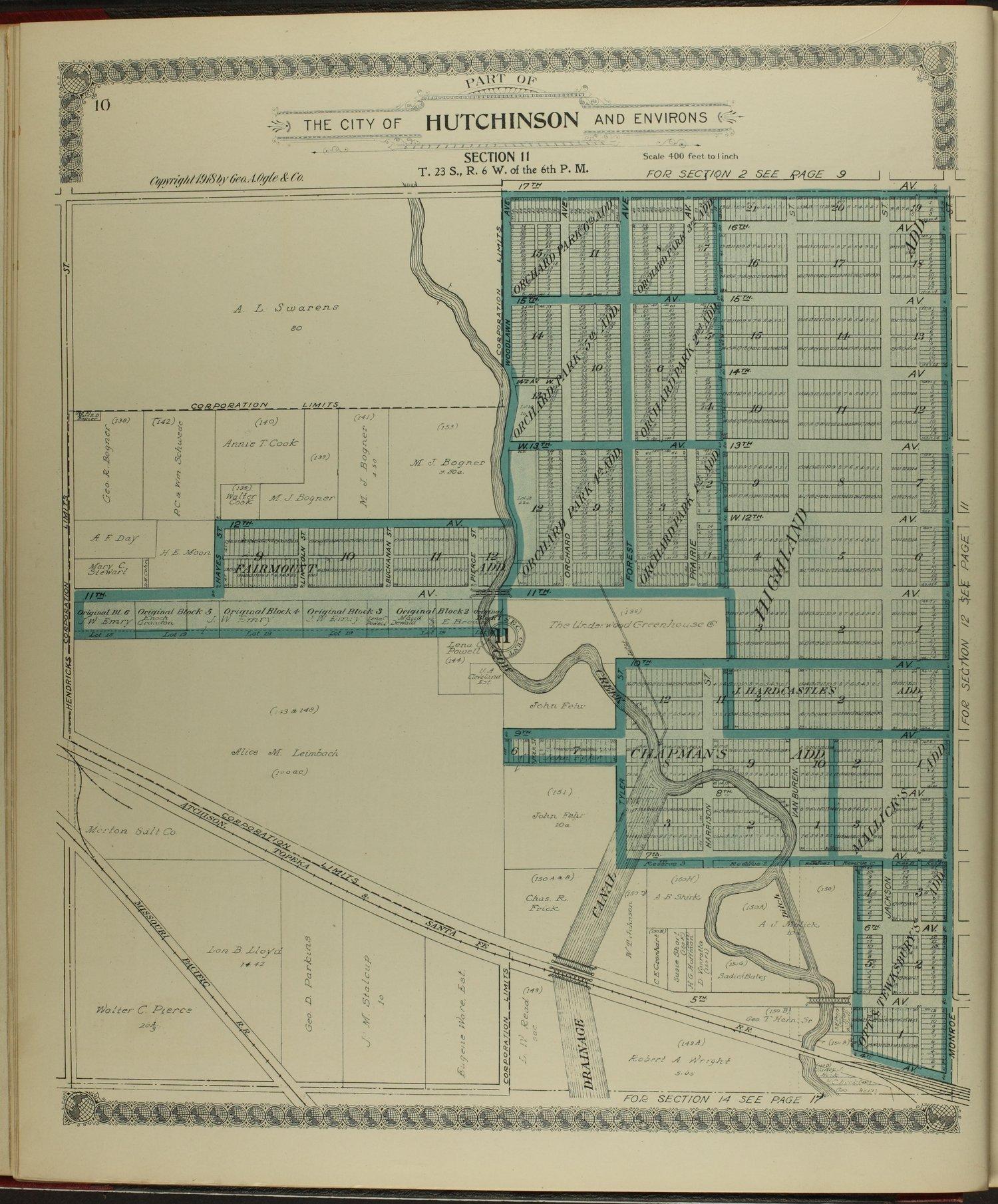 Standard atlas of Reno County, Kansas - 10