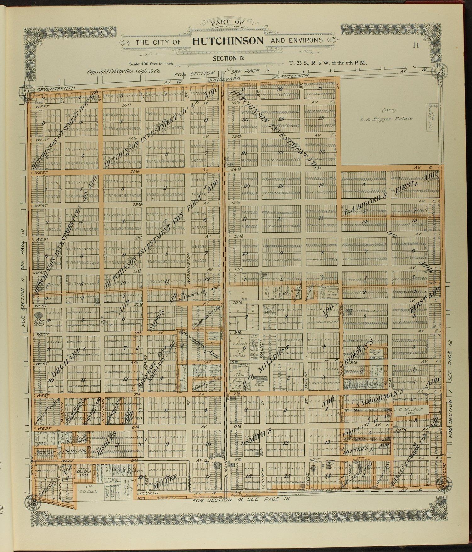 Standard atlas of Reno County, Kansas - 11
