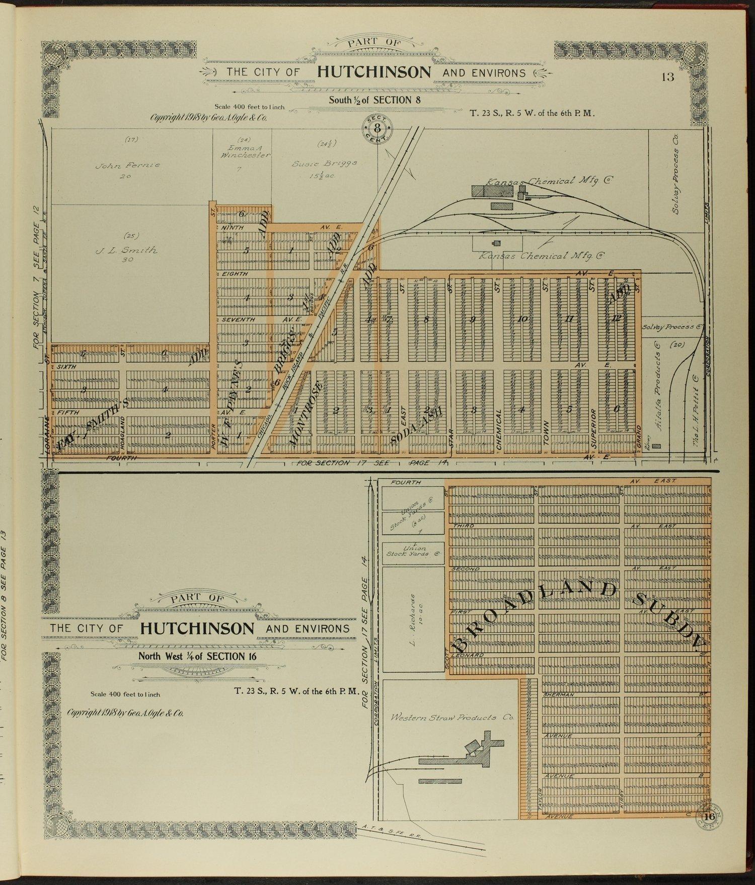 Standard atlas of Reno County, Kansas - 13