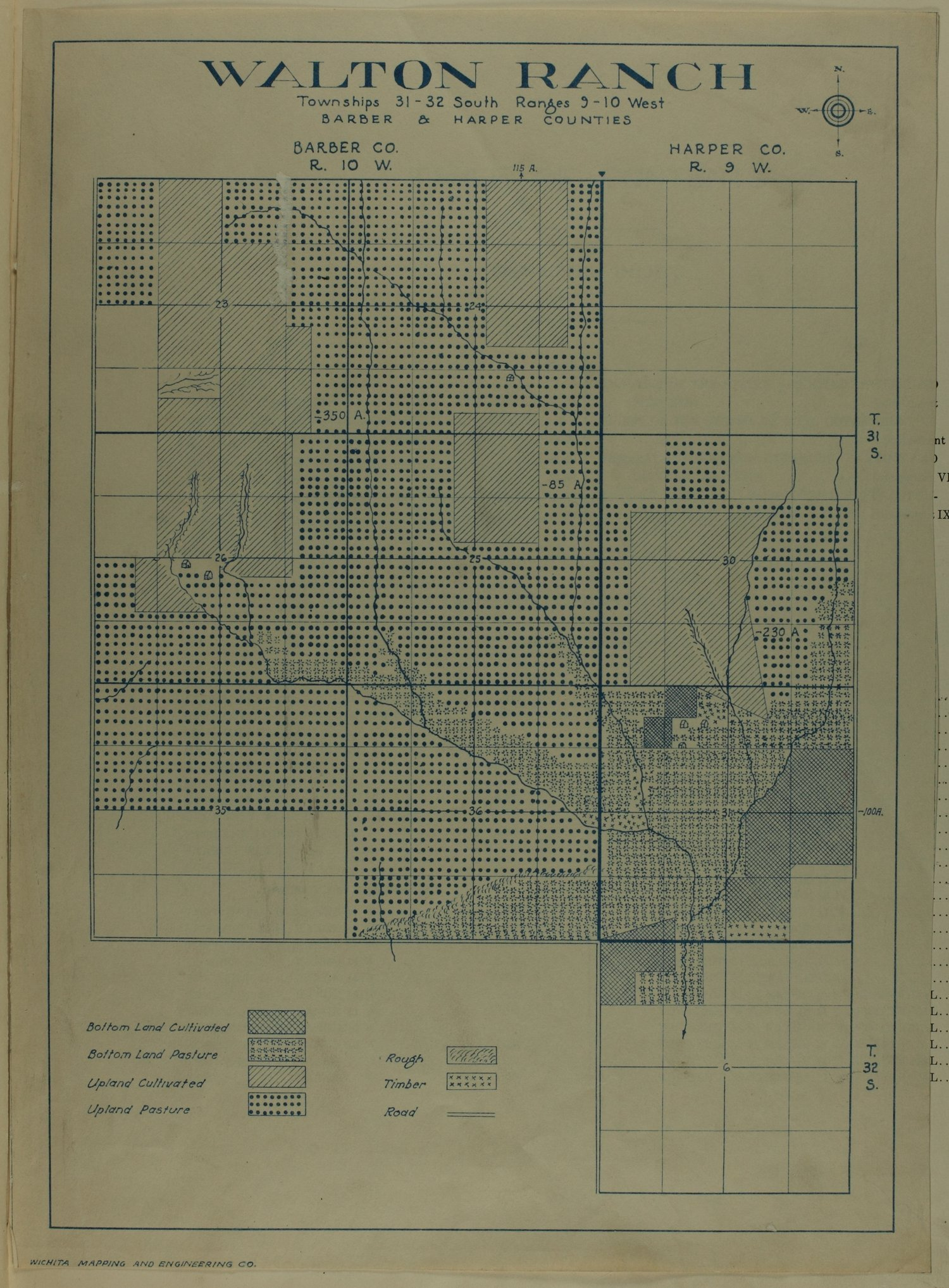 Standard atlas of Barber County, Kansas - map insert