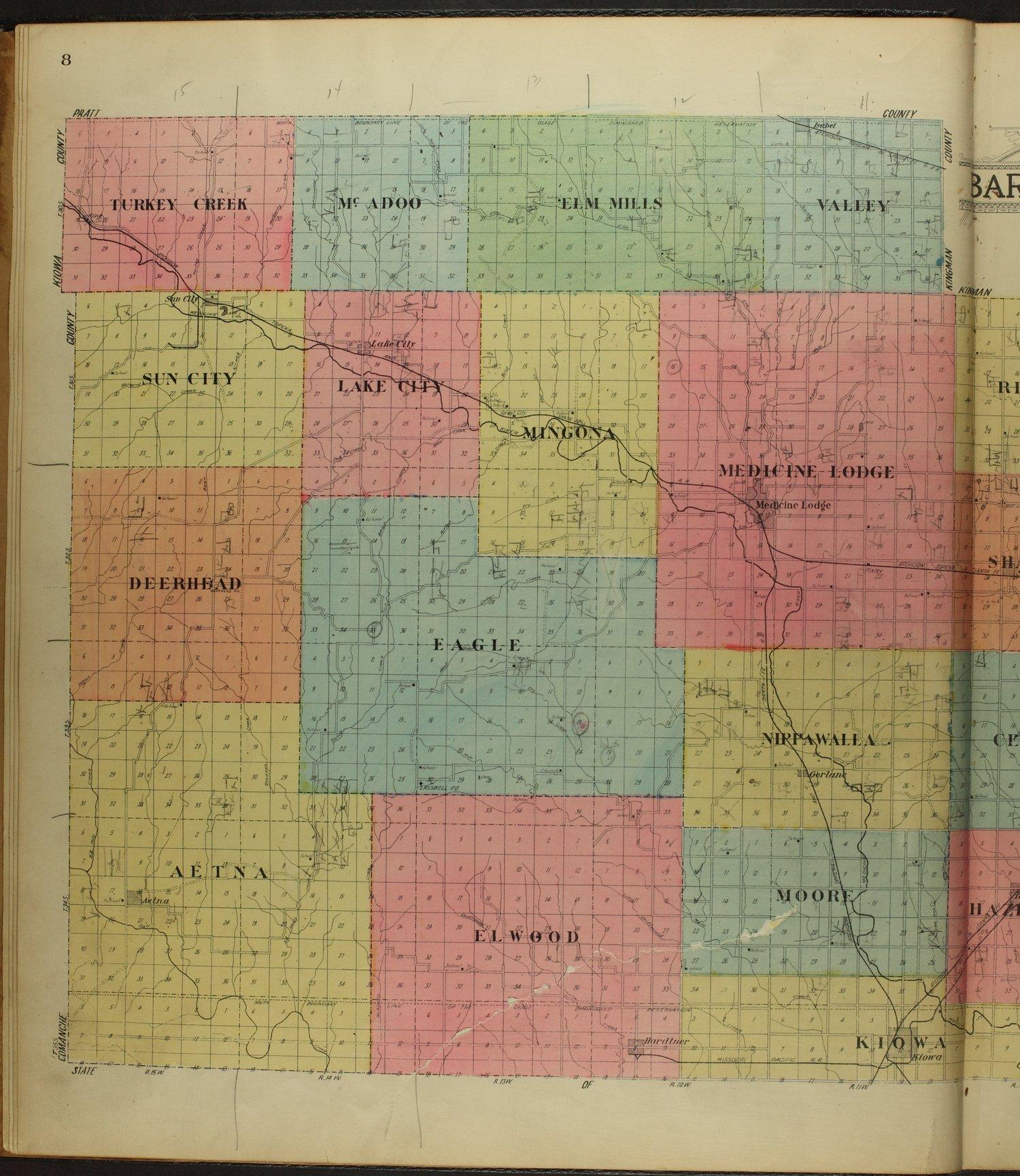 Standard atlas of Barber County, Kansas - 8