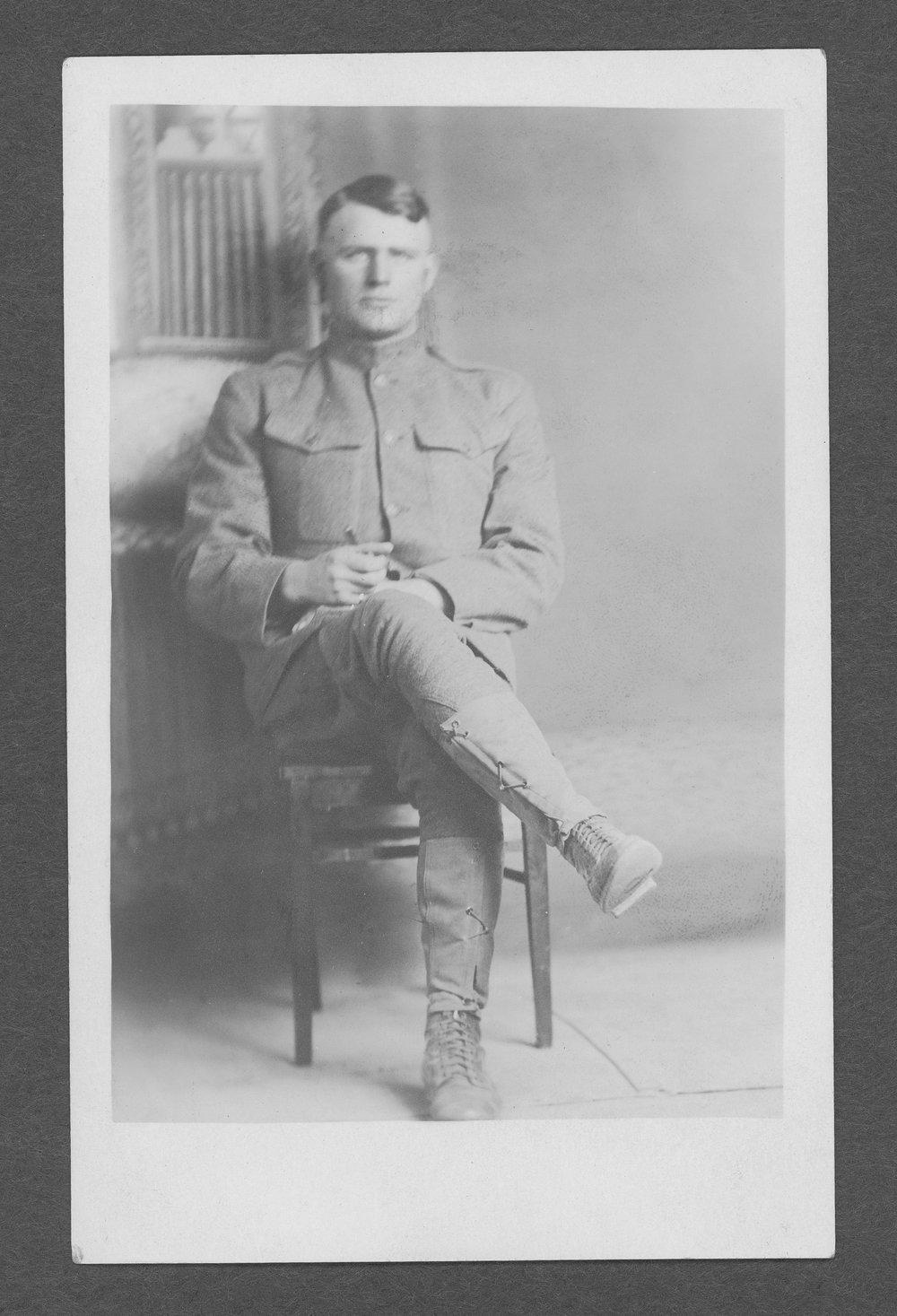 Carl Lester Cavenee, World War I soldier - 1