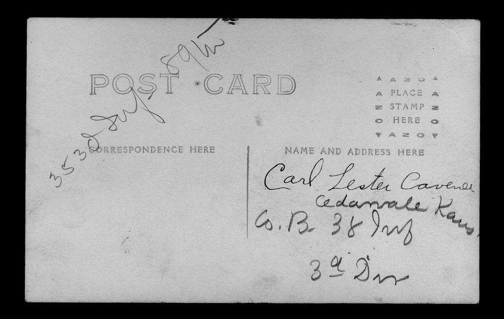 Carl Lester Cavenee, World War I soldier - 2