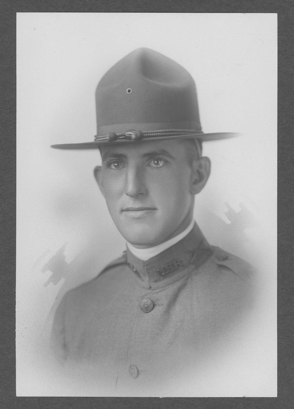 Harold W. Chance, World War I soldier - 1