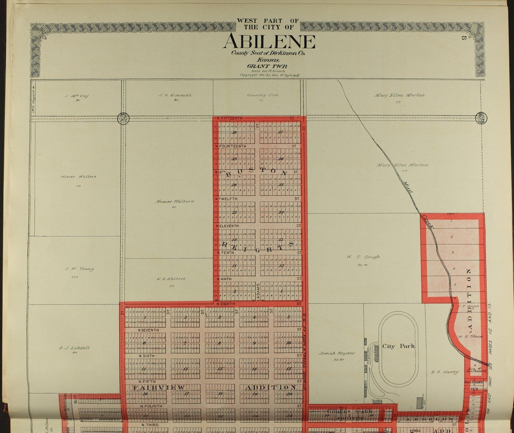 Standard atlas of Dickinson County, Kansas - 8