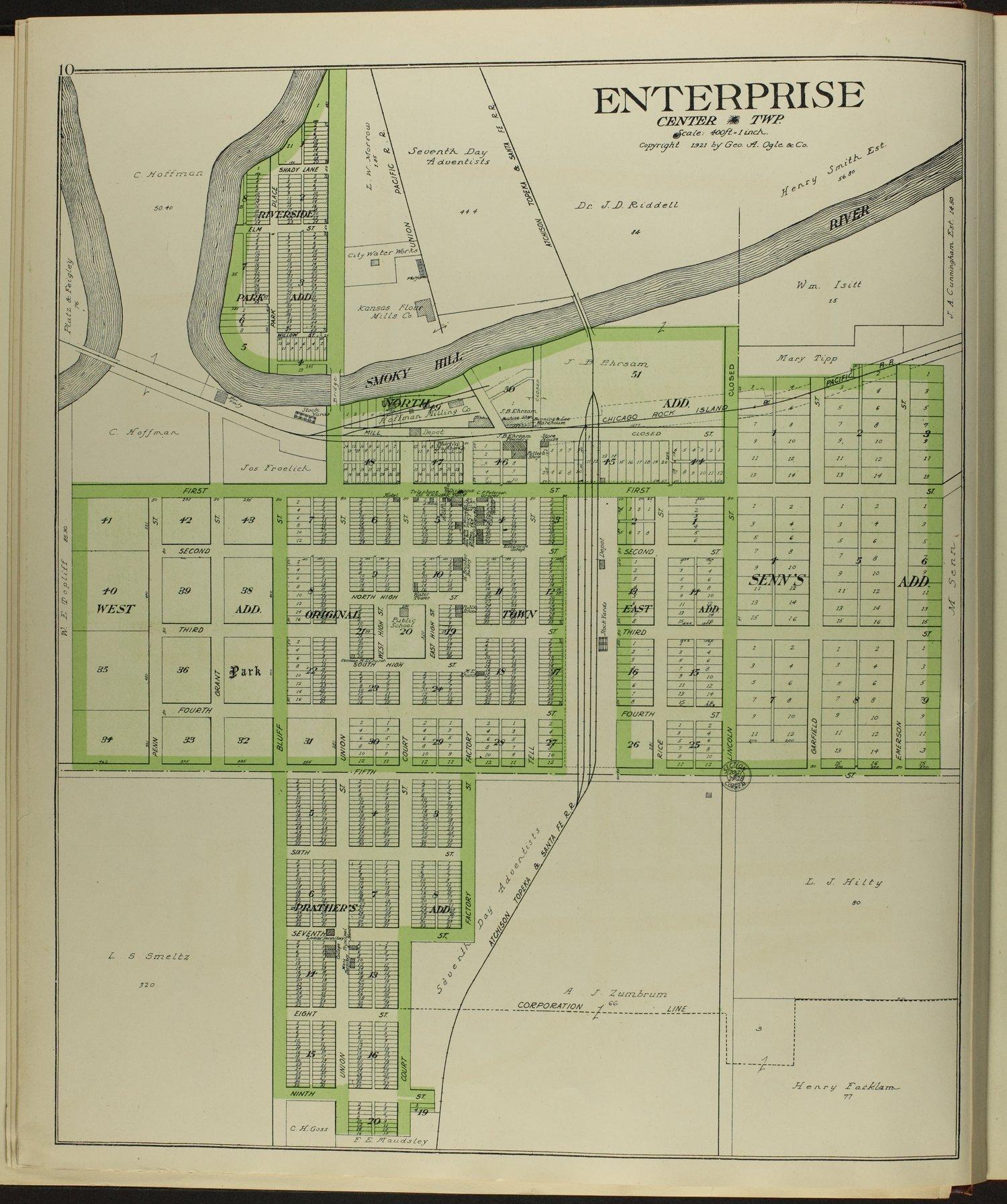 Standard atlas of Dickinson County, Kansas - 10