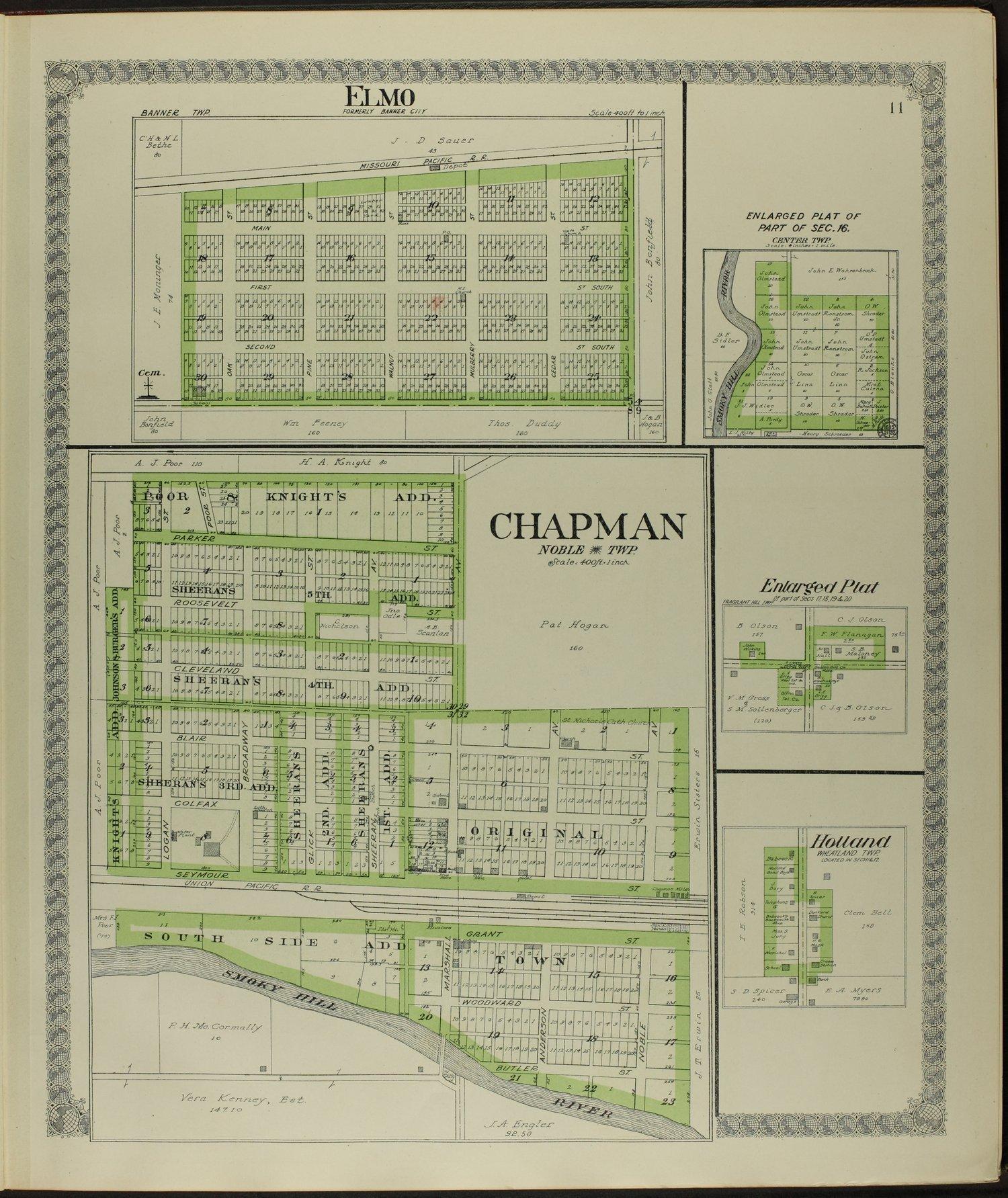 Standard atlas of Dickinson County, Kansas - 11