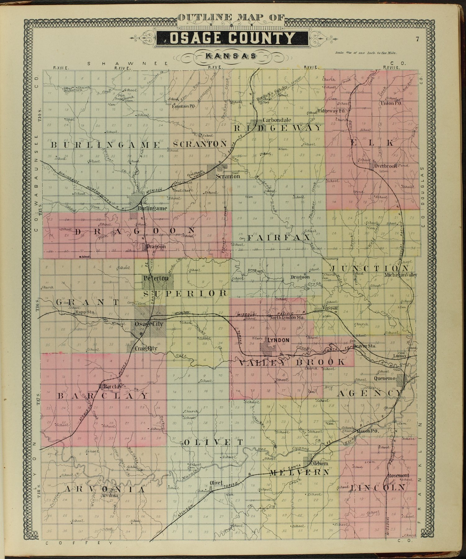 Descriptive atlas of Osage County, Kansas - 7
