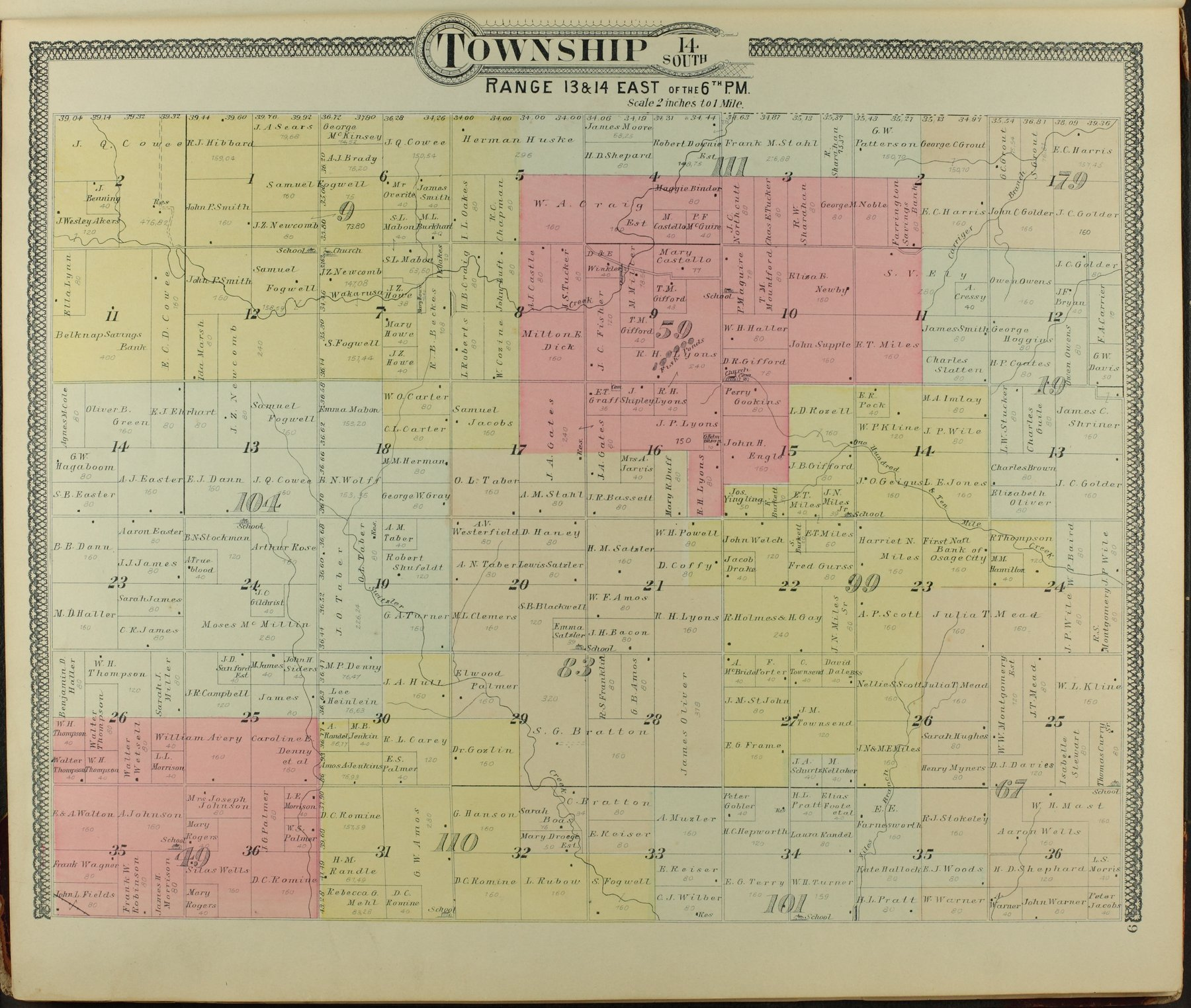 Descriptive atlas of Osage County, Kansas - 9