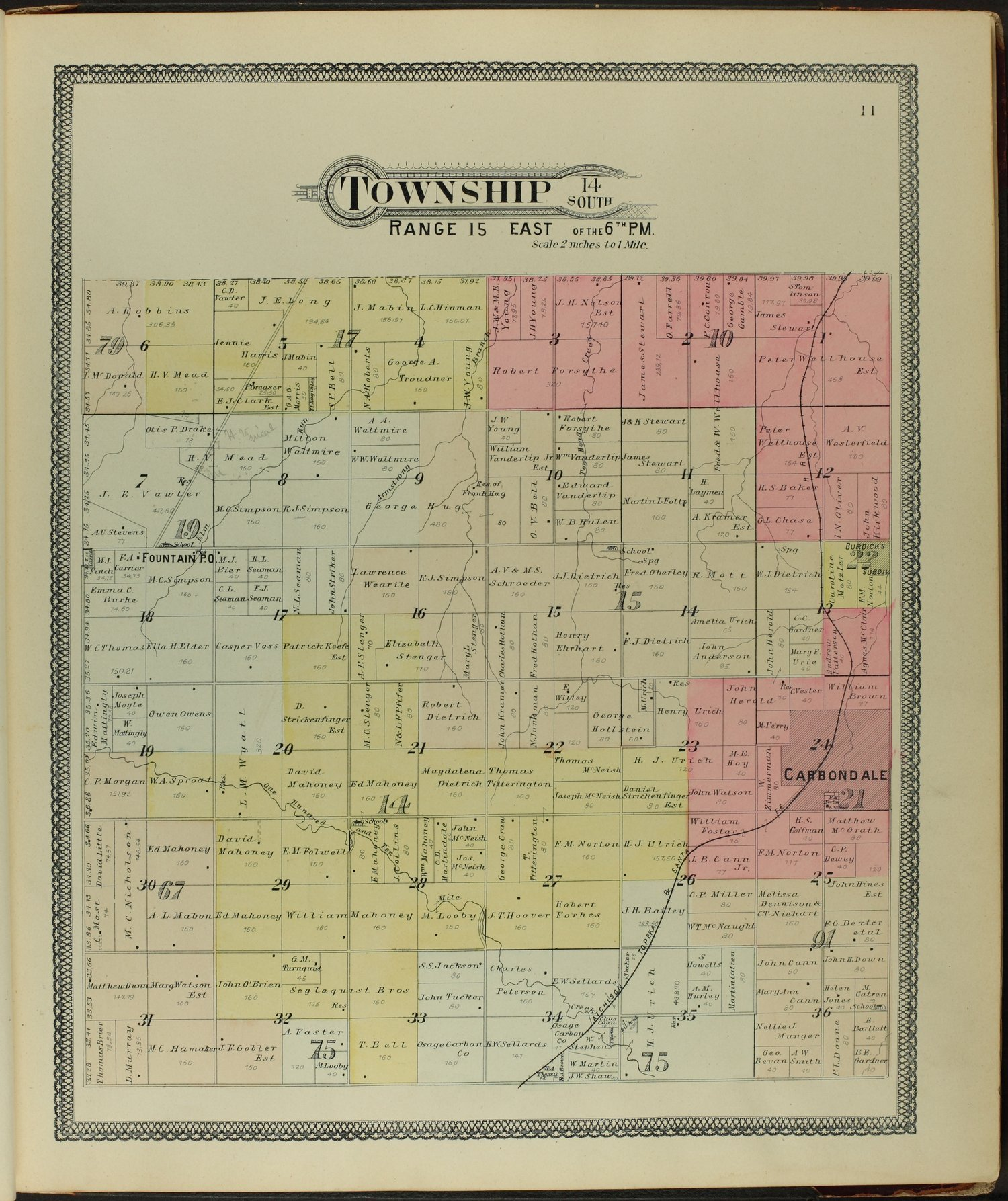 Descriptive atlas of Osage County, Kansas - 11