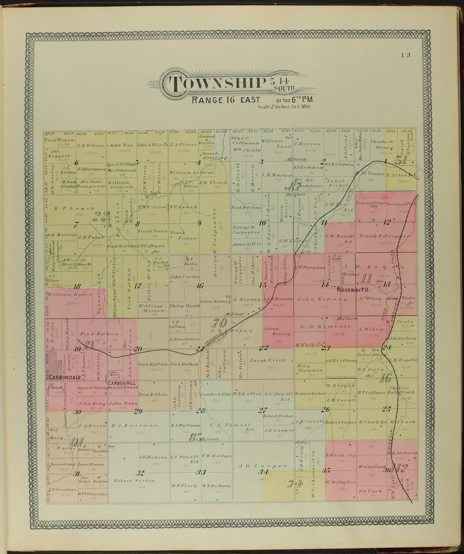 Descriptive atlas of Osage County, Kansas - 13