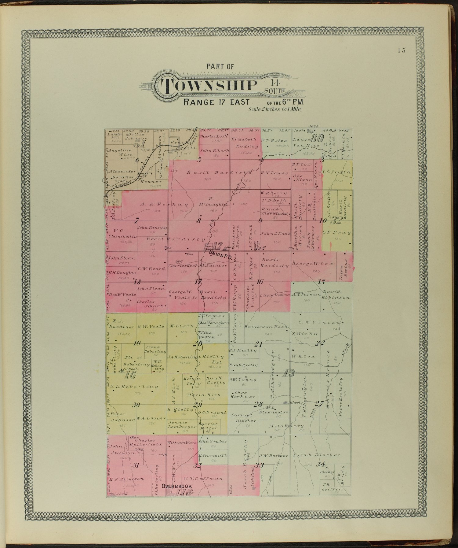 Descriptive atlas of Osage County, Kansas - 15