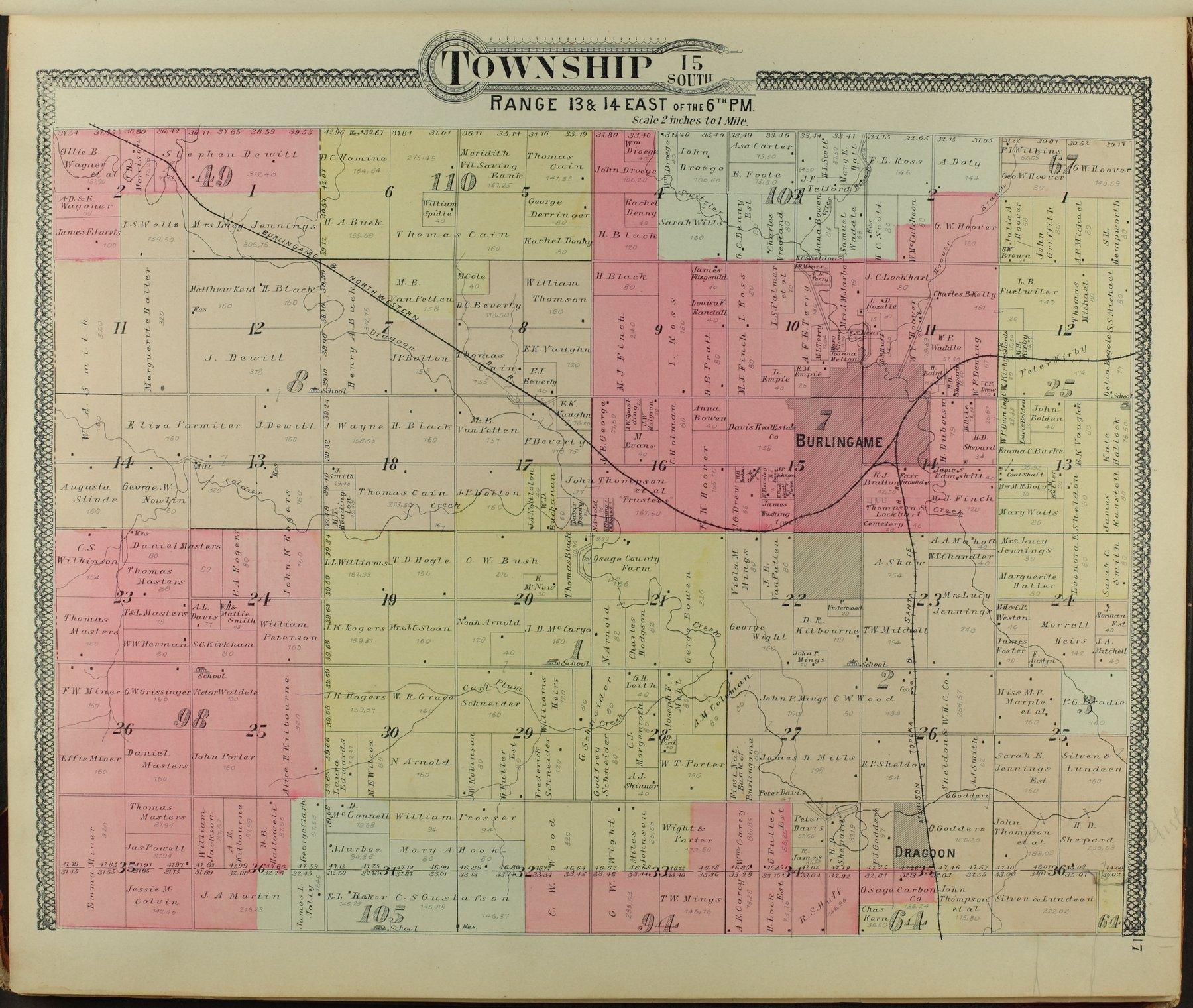 Descriptive atlas of Osage County, Kansas - 17