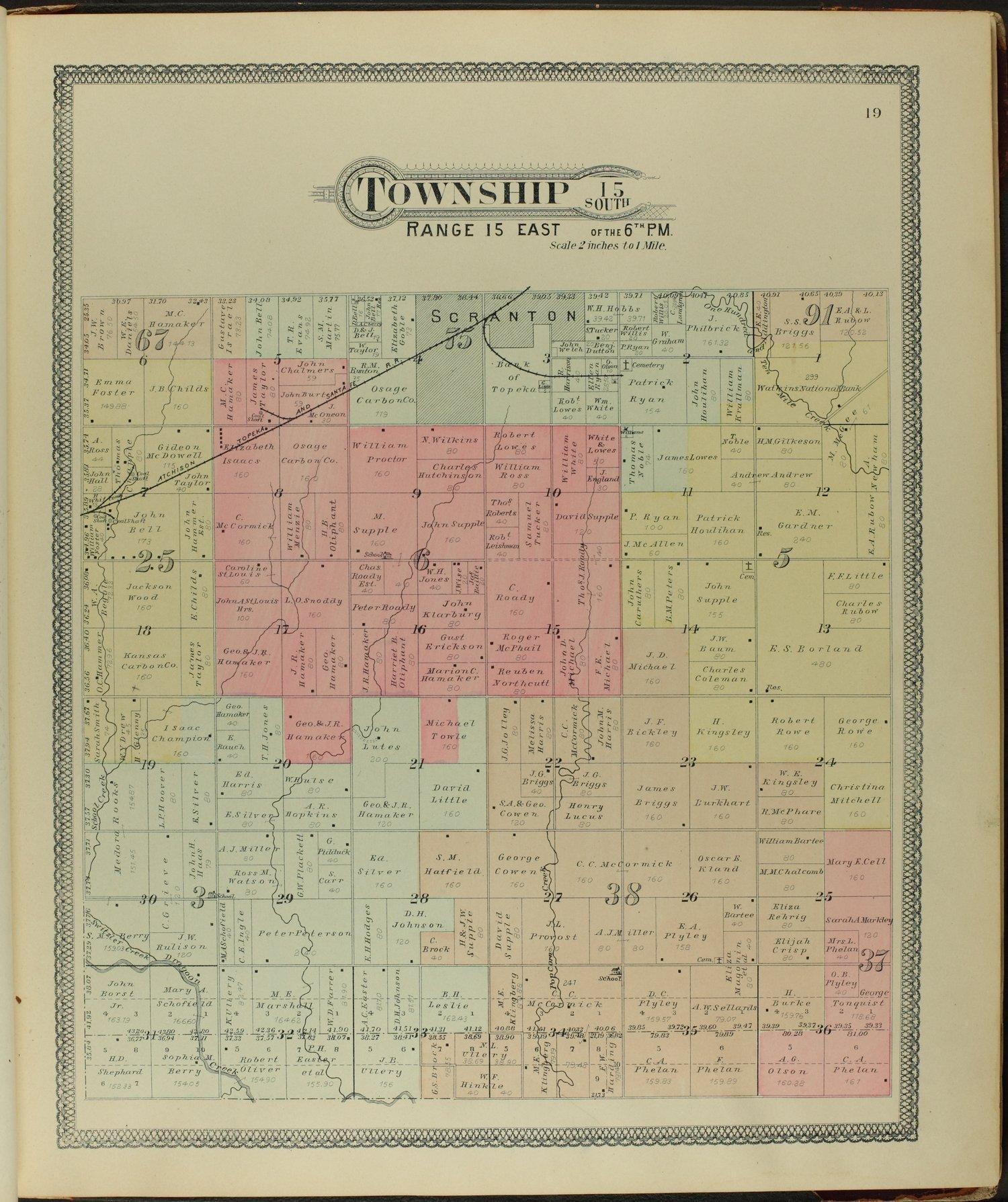 Descriptive atlas of Osage County, Kansas - 19