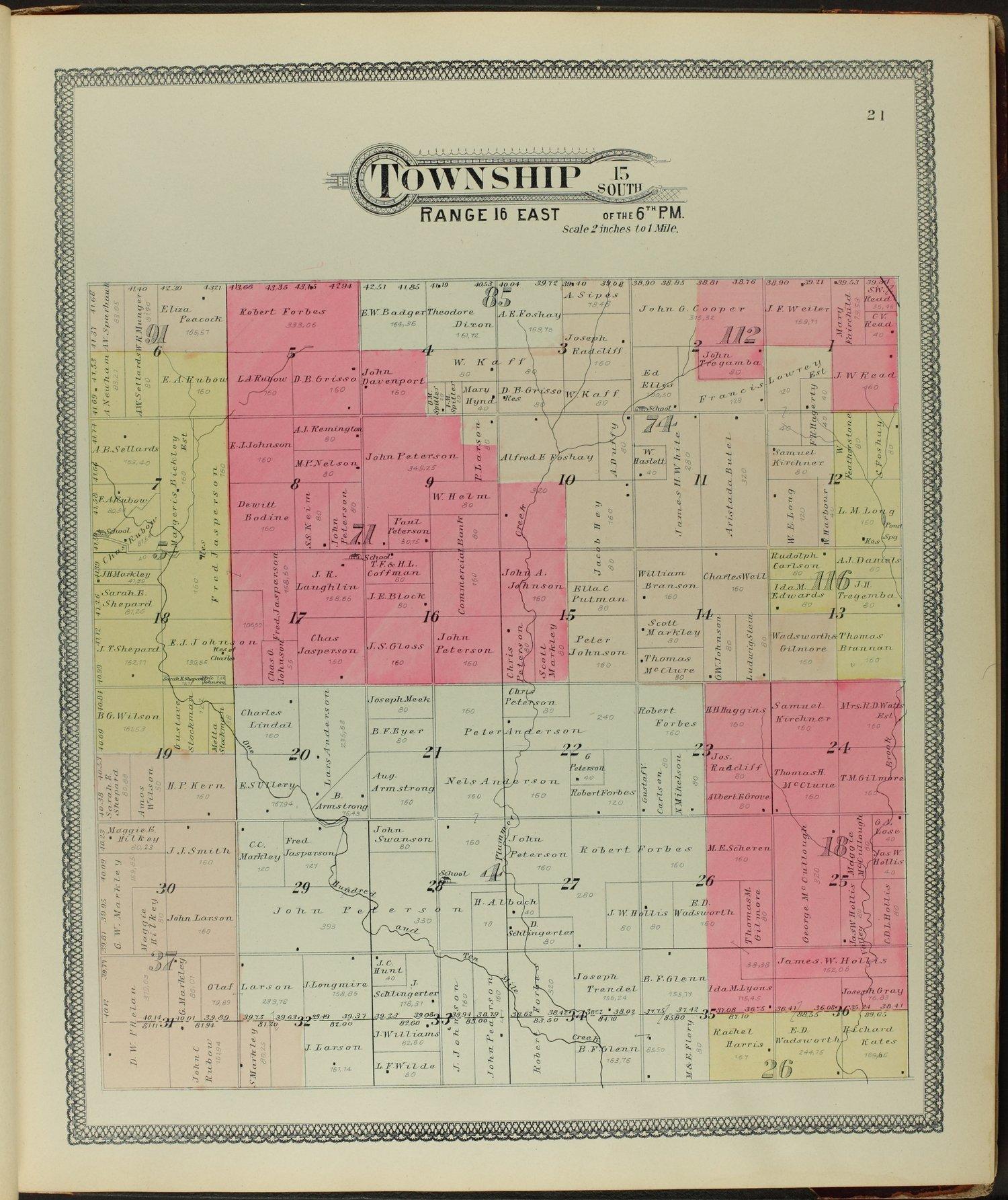 Descriptive atlas of Osage County, Kansas - 21