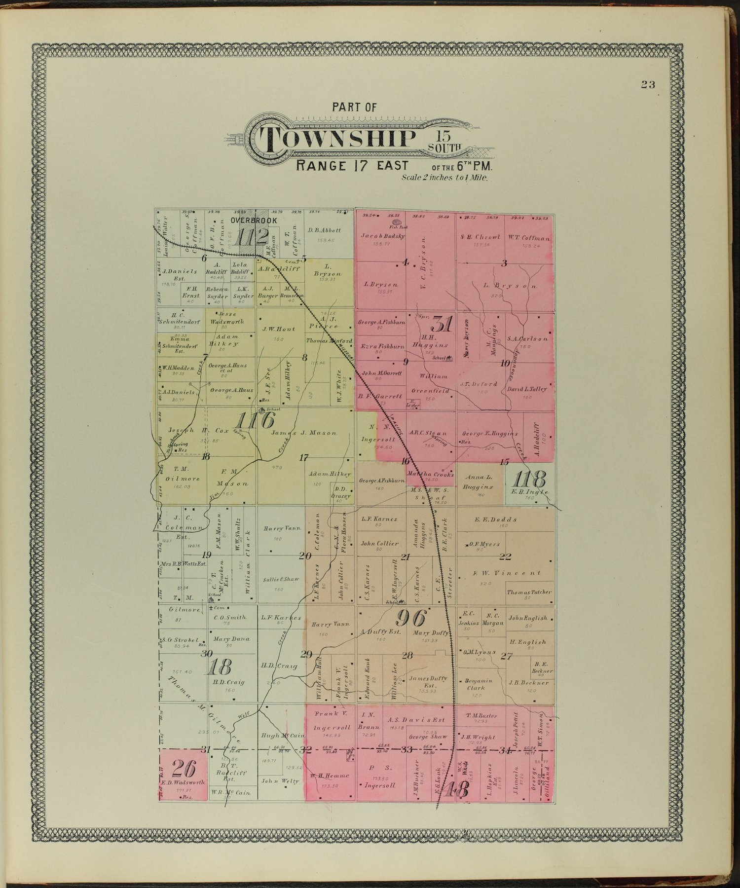 Descriptive atlas of Osage County, Kansas - 23