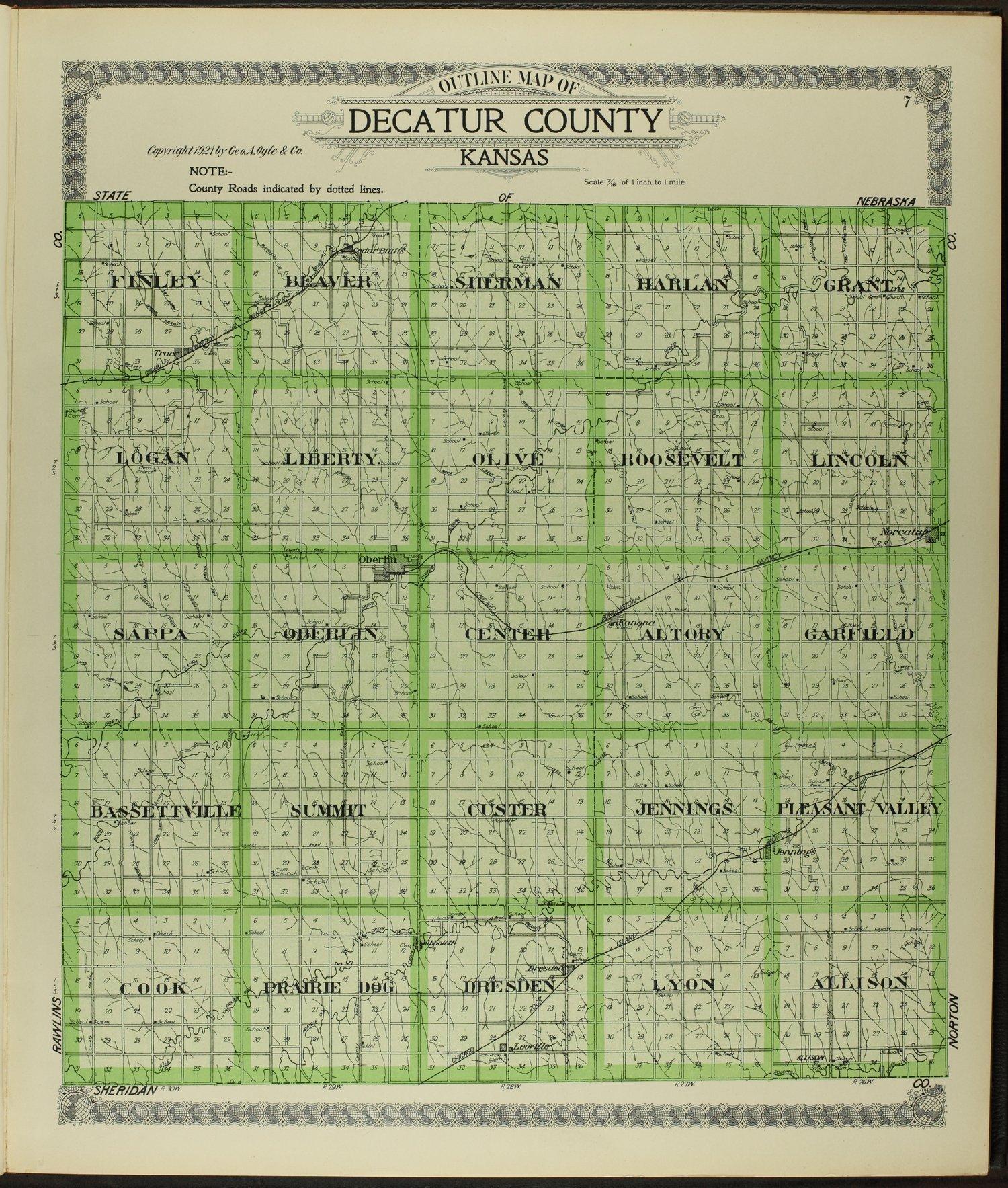 Standard atlas of Decatur County, Kansas - 7
